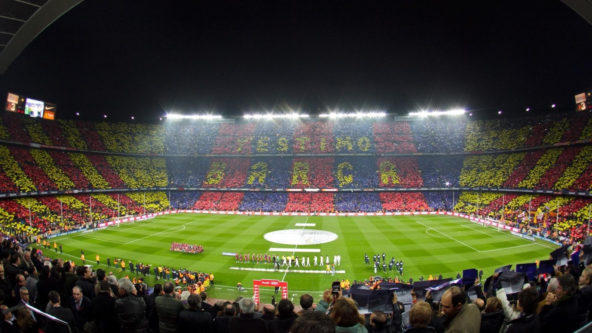 Preview wallpaper barcelona, camp nou, stadium 1920×1080