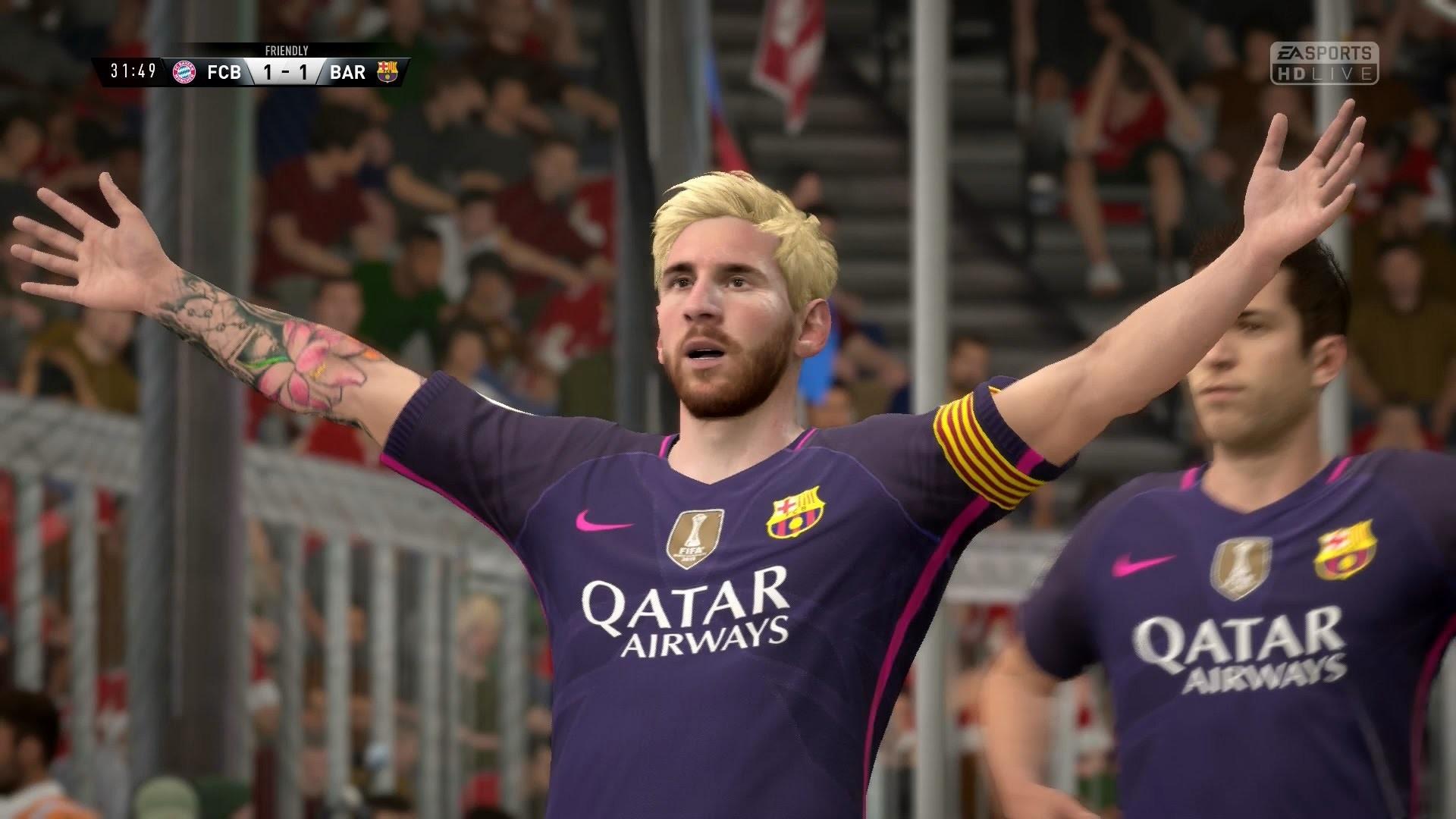 FIFA 17 | FC Bayern Munich vs FC Barcelona – Full Gameplay (PS4/Xbox One) –  YouTube