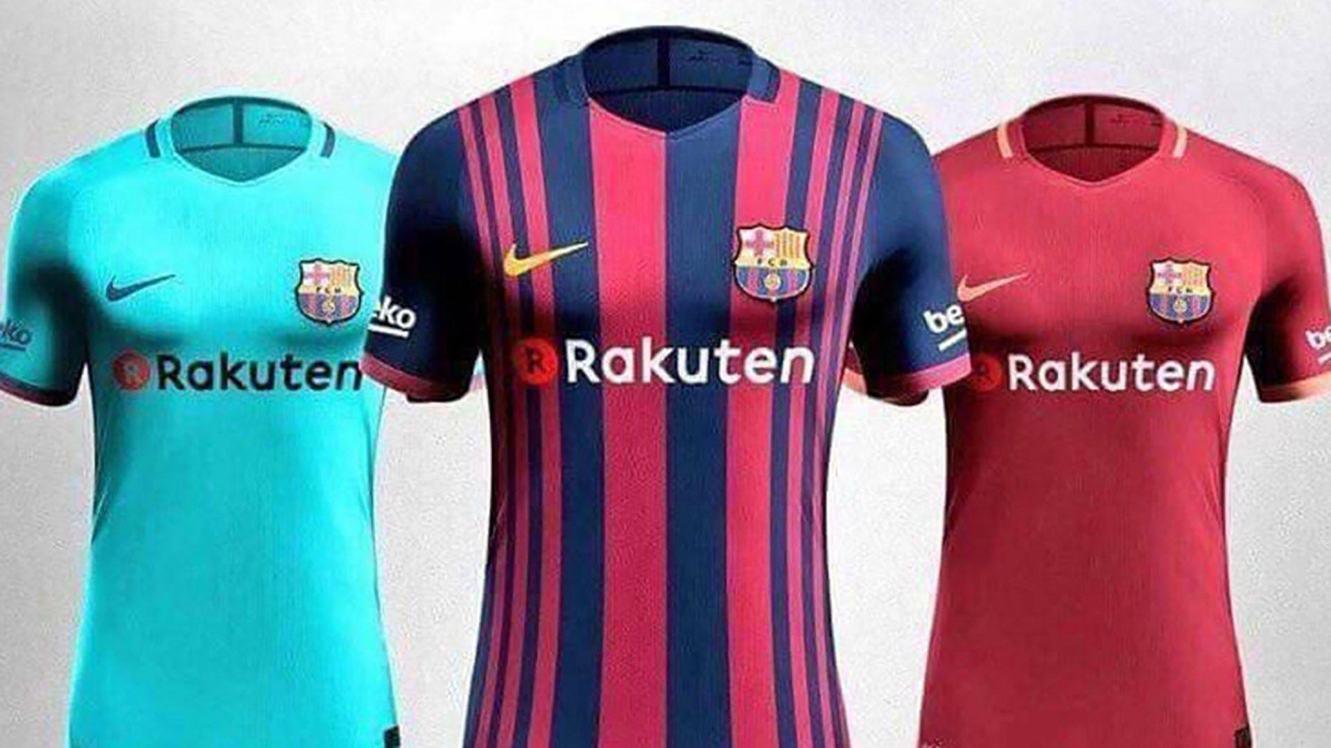 Revealed: Barcelona 2017/2018 season shirts