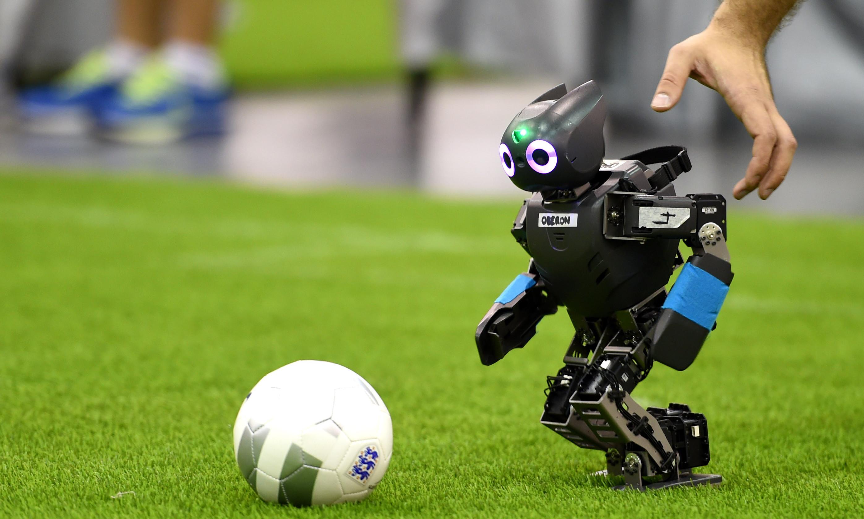Technology – Robot Soccer Ball Wallpaper