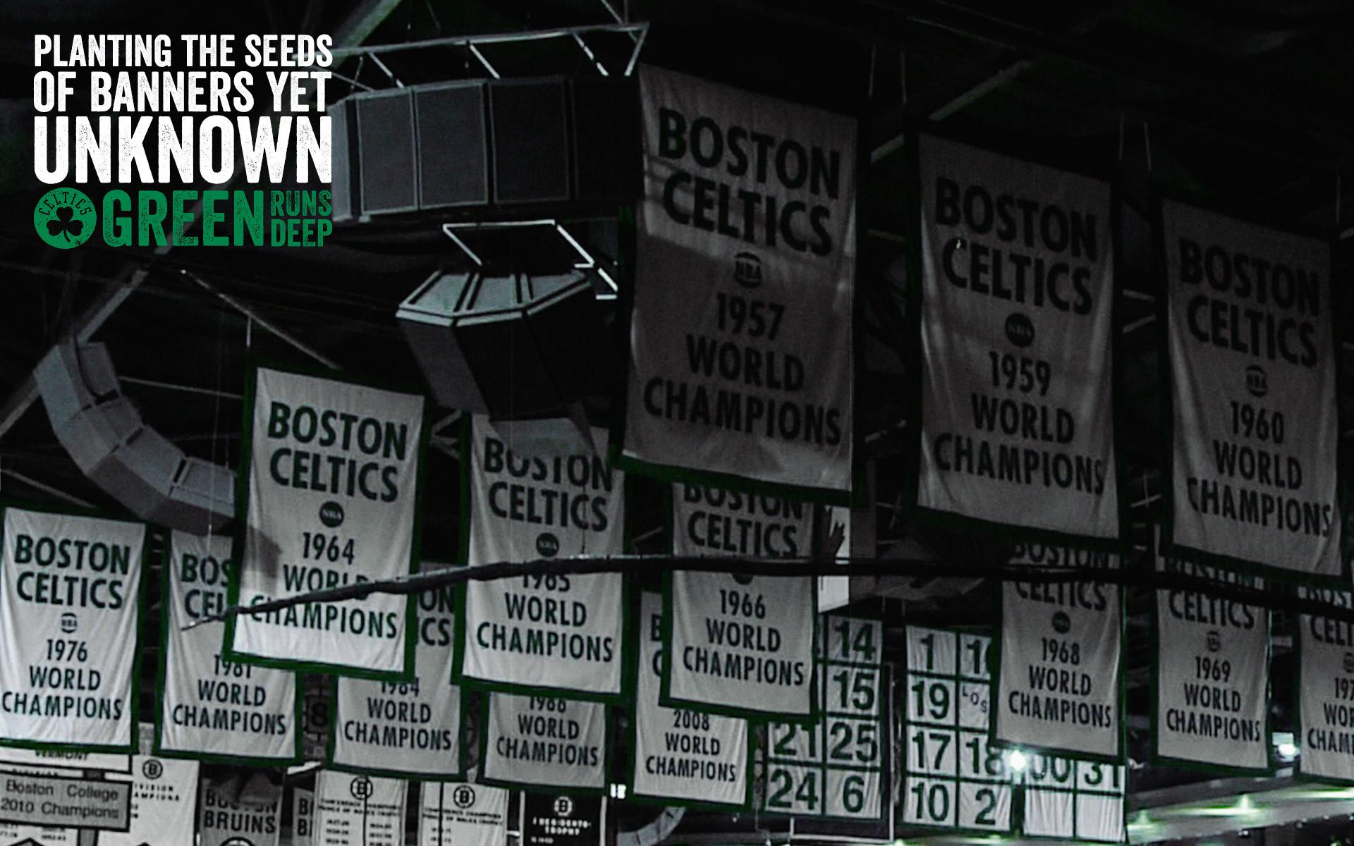2013-14 Season – Green Runs Deep Wallpaper