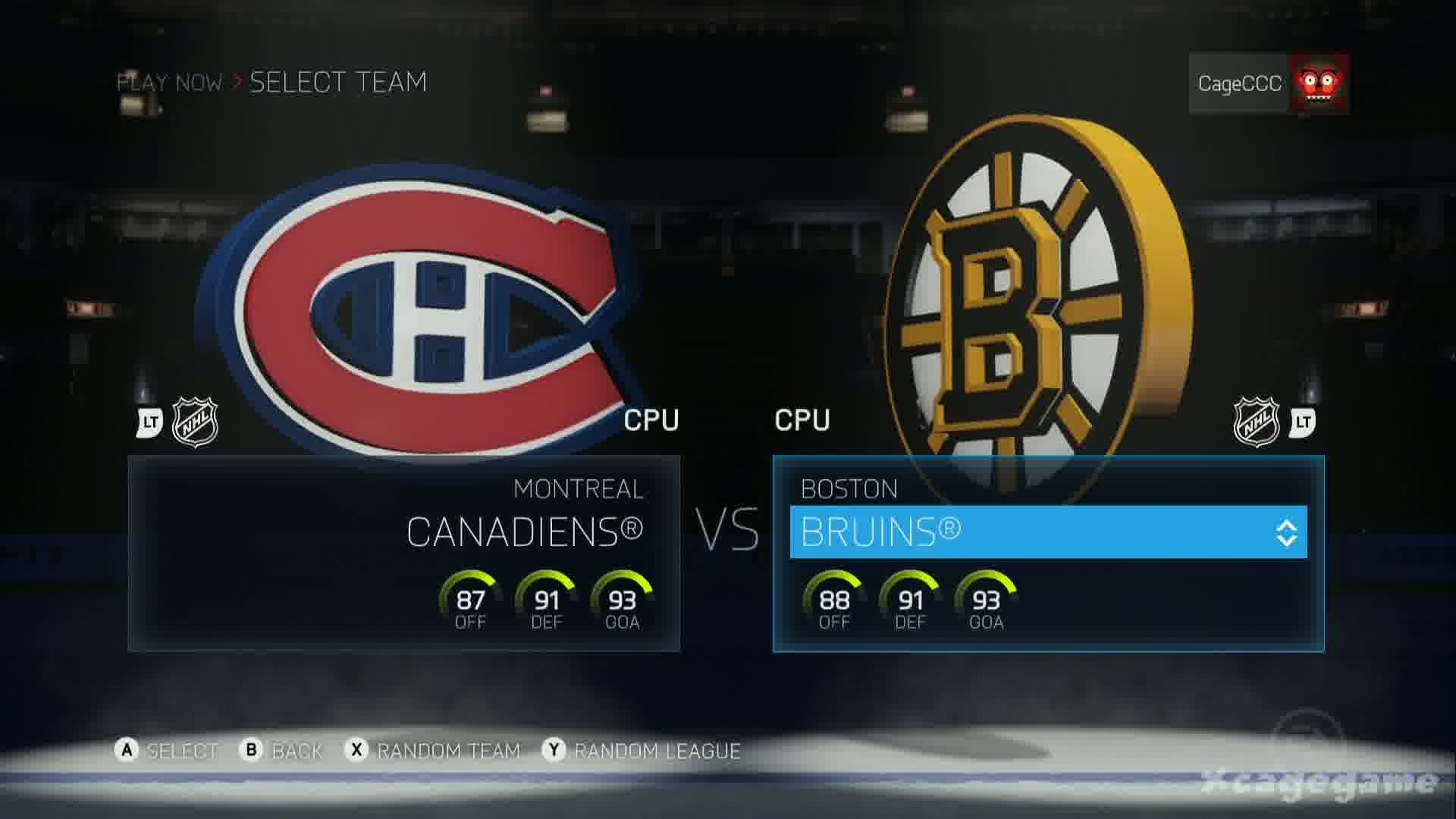 NHL 15 – Gameplay Montreal Canadiens vs Boston Bruins – Xbox One – Full  Game [ HD ] – YouTube