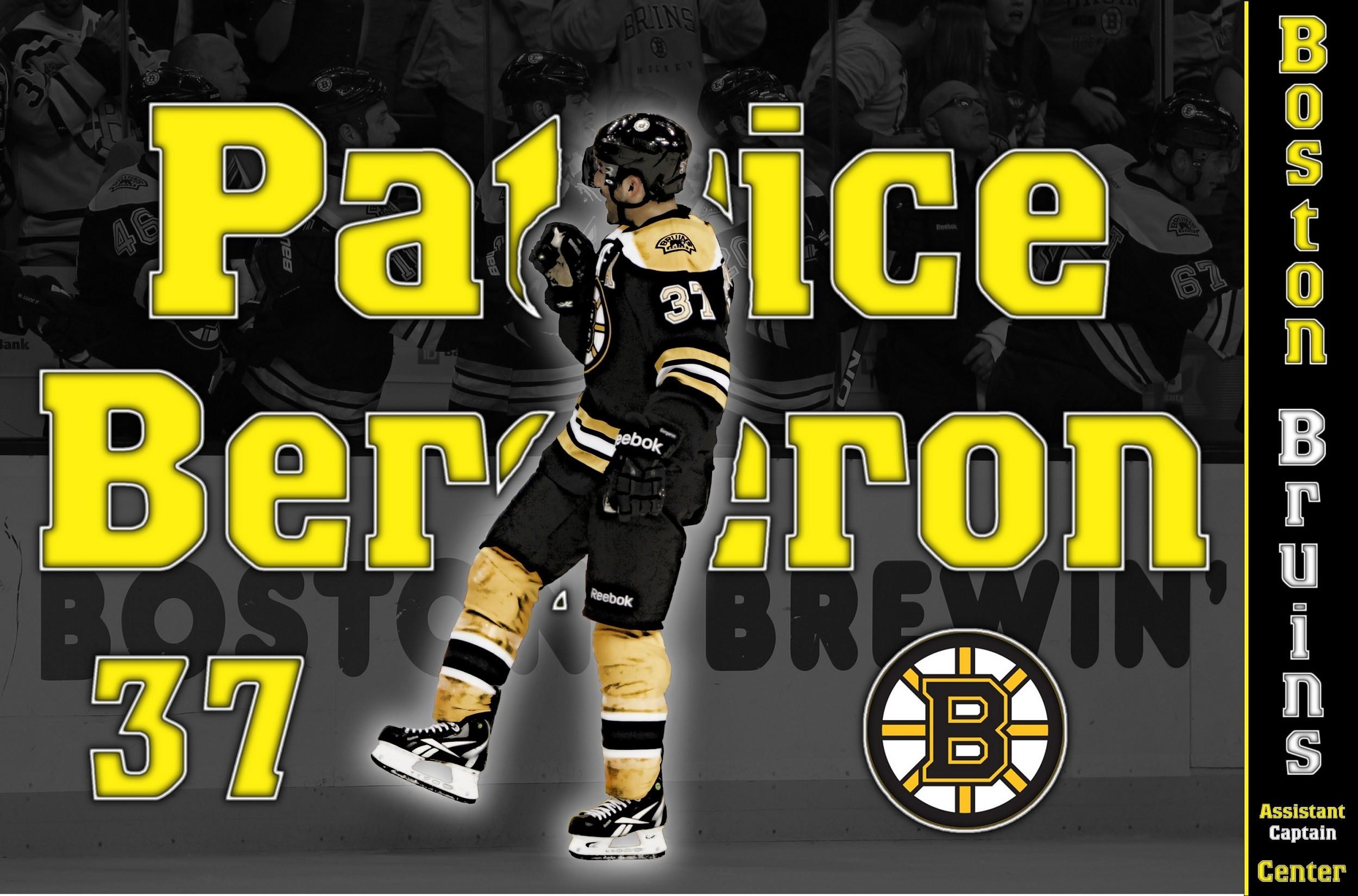 hockey Patrice Bergeron Boston Bruins wallpaper background