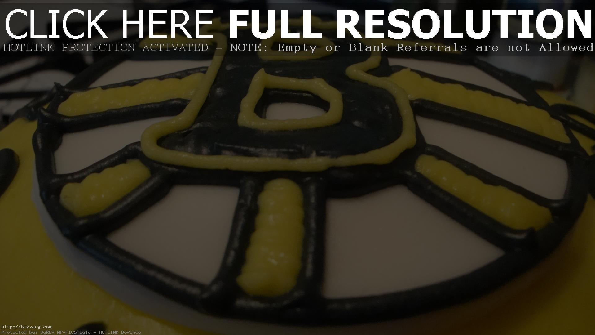 Boston Bruins Birthday Cake (id: 90065)