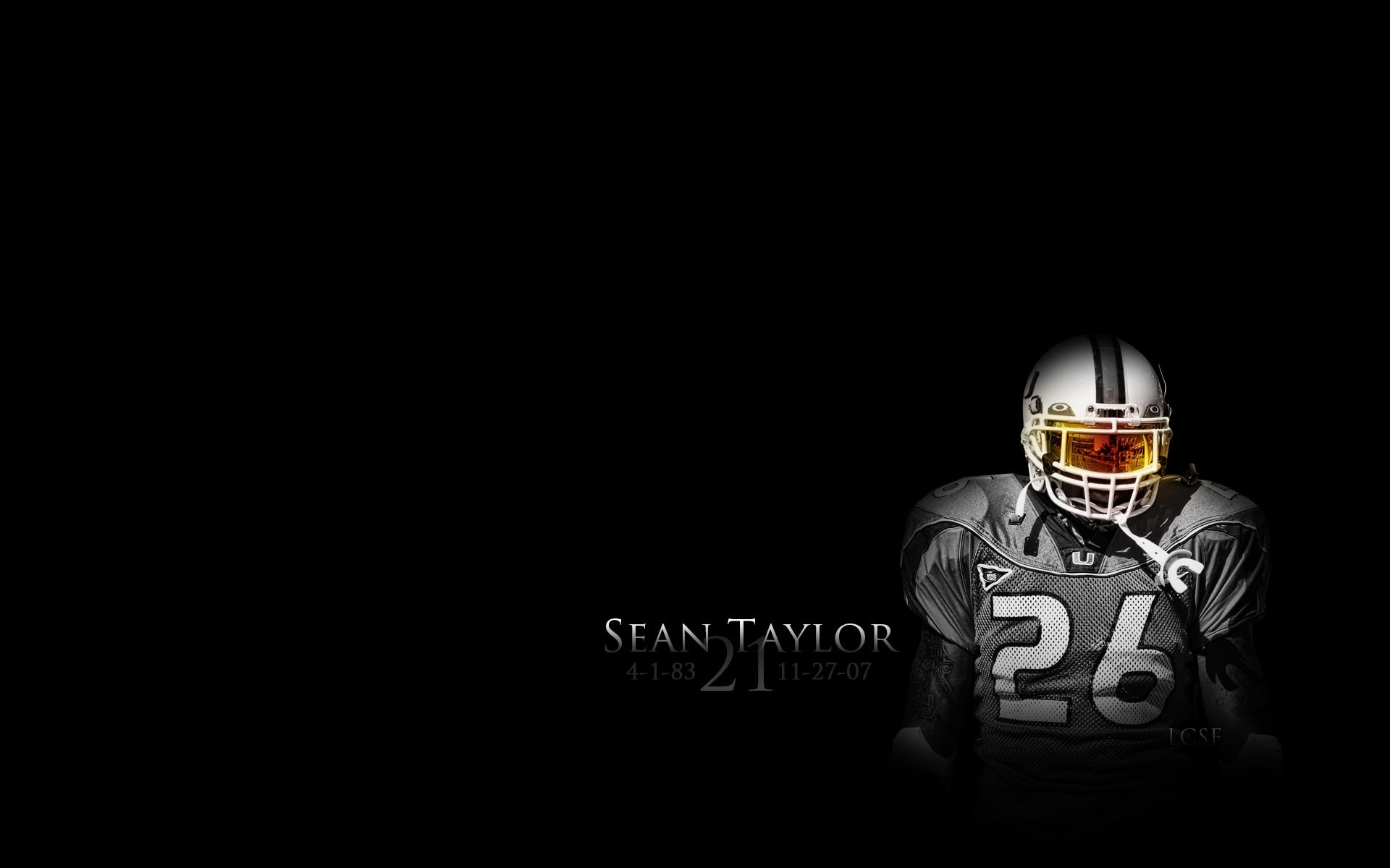 Sean Taylor Miami Hurricanes, redskins, washington, HD .