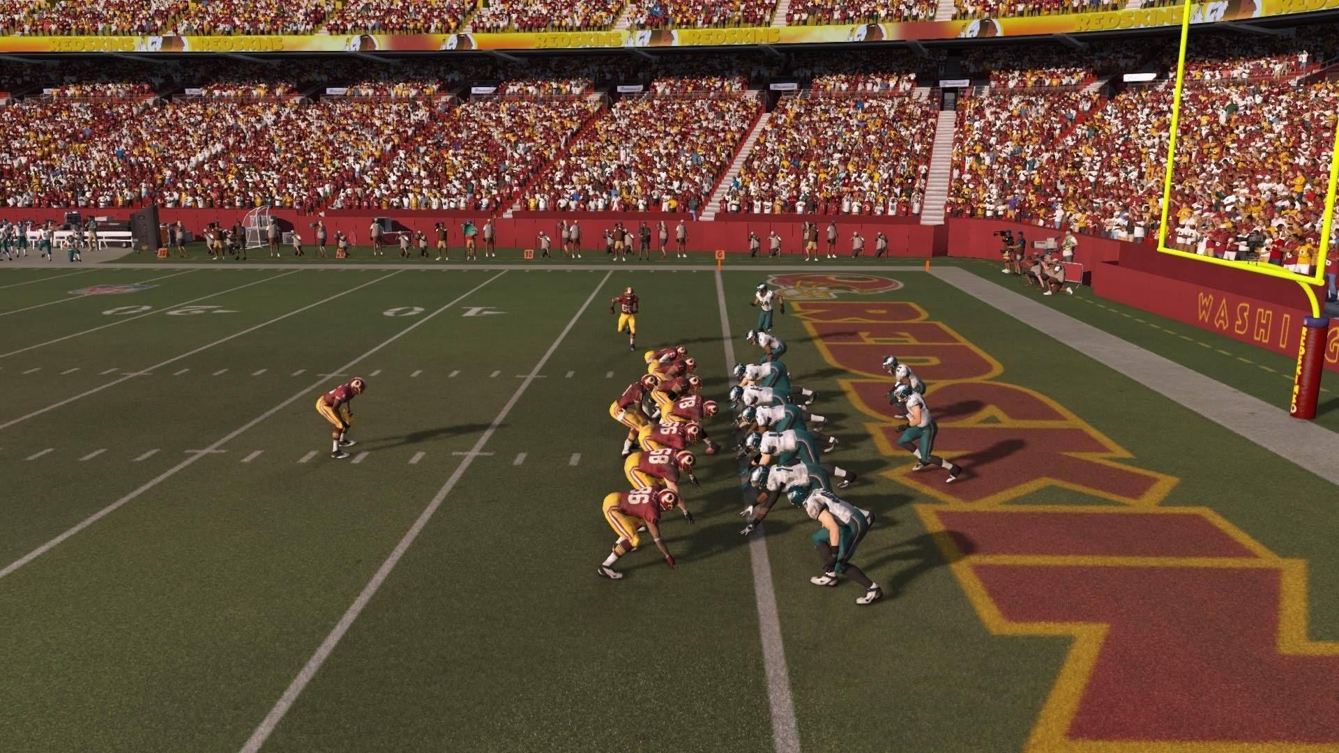 NFL 2014 Week 16 – Philadelphia Eagles vs Washington Redskins – 2nd Half –  Madden 15 PS4 – HD
