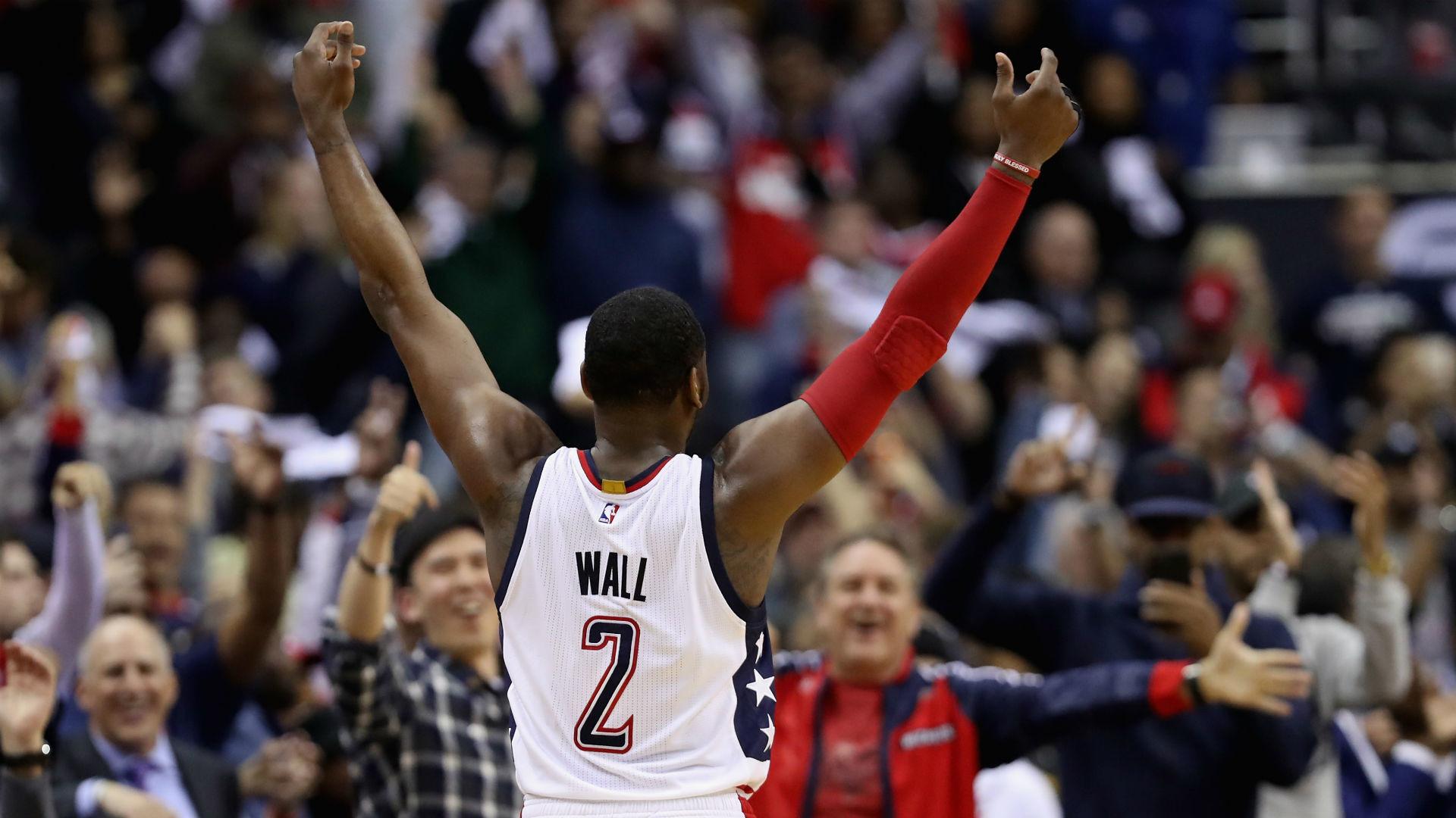 NBA playoffs 2017: Wizards, Rockets, Warriors take commanding 2-0 leads |  NBA | Sporting News