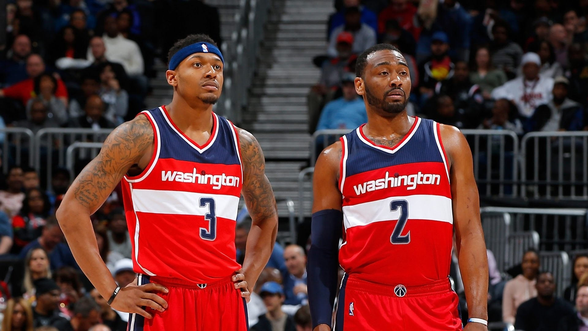 Beal, Wall Carry Heavy Load | John Wall and Bradley Beal combined for a  season-high 35 points in th – YouTube
