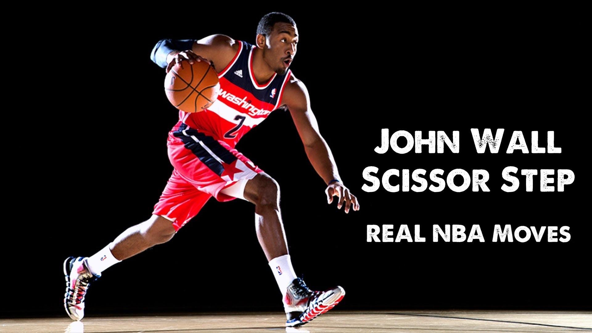 Real NBA Moves: John Wall Scissor Step (featuring Zach LaVine)