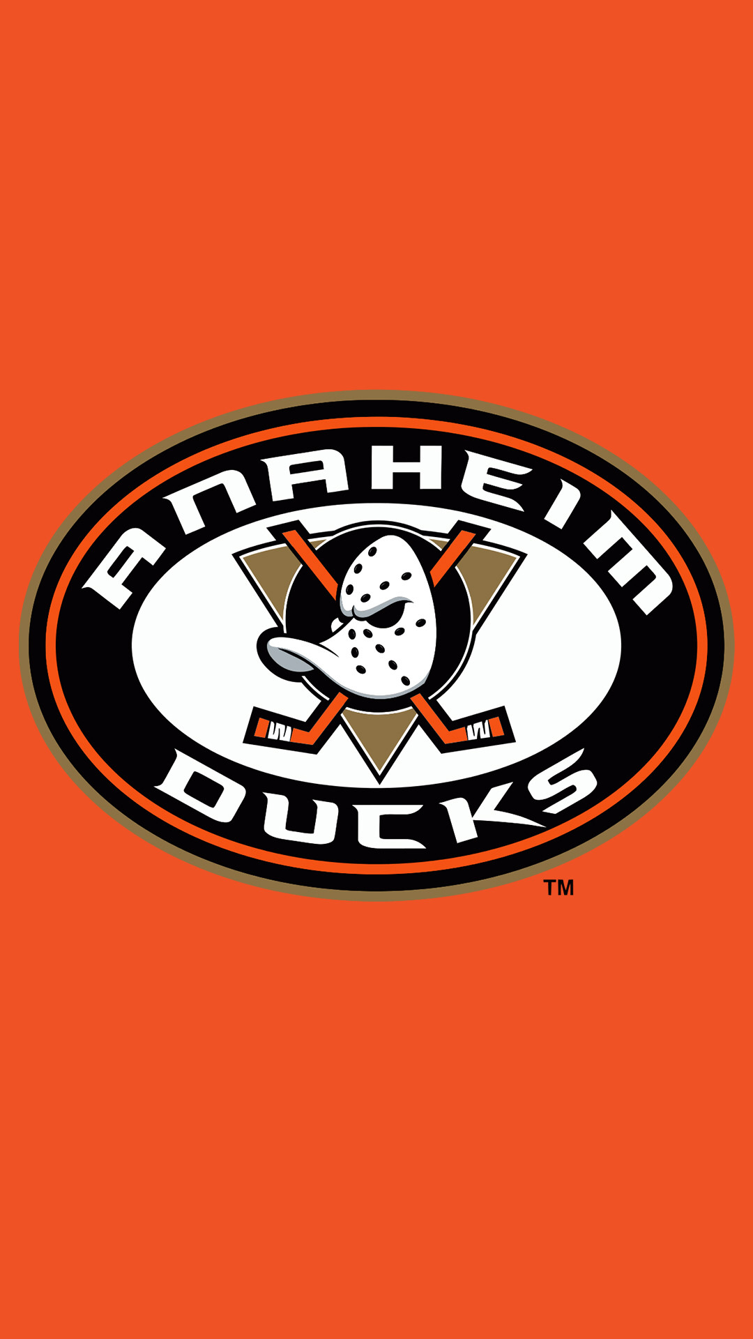 Anaheim Ducks iPhone 6 plus wallpaper created by me