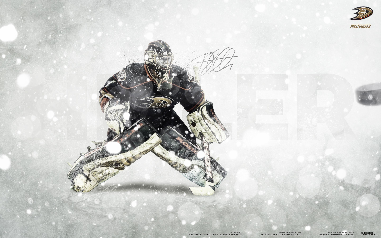 NHL Wallpapers – Jonas Hiller Anaheim Ducks 2014 wallpaper