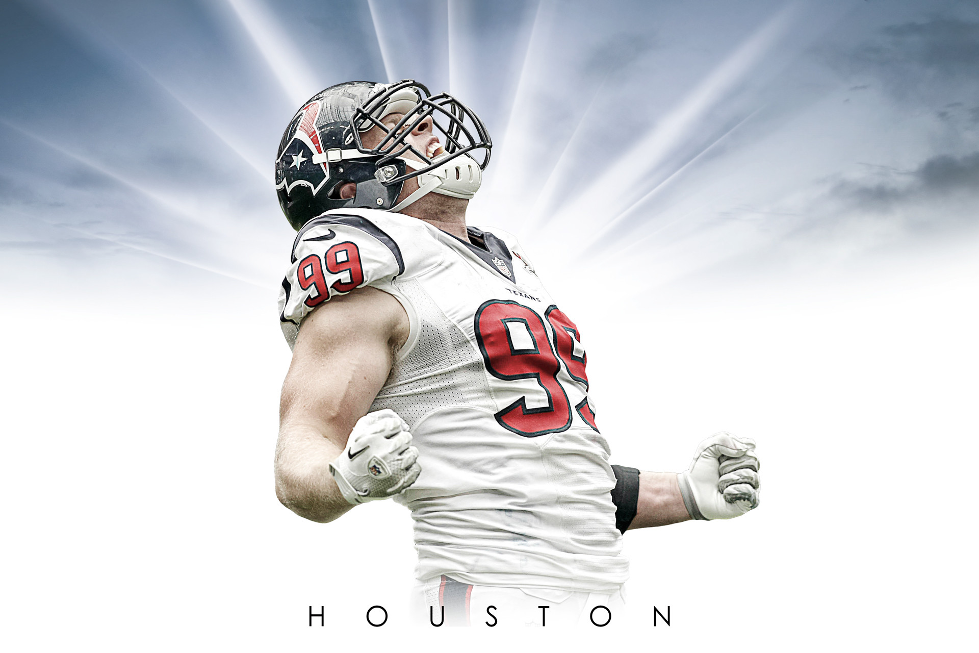 JJ Watt -Houston Texans Wallpaper
