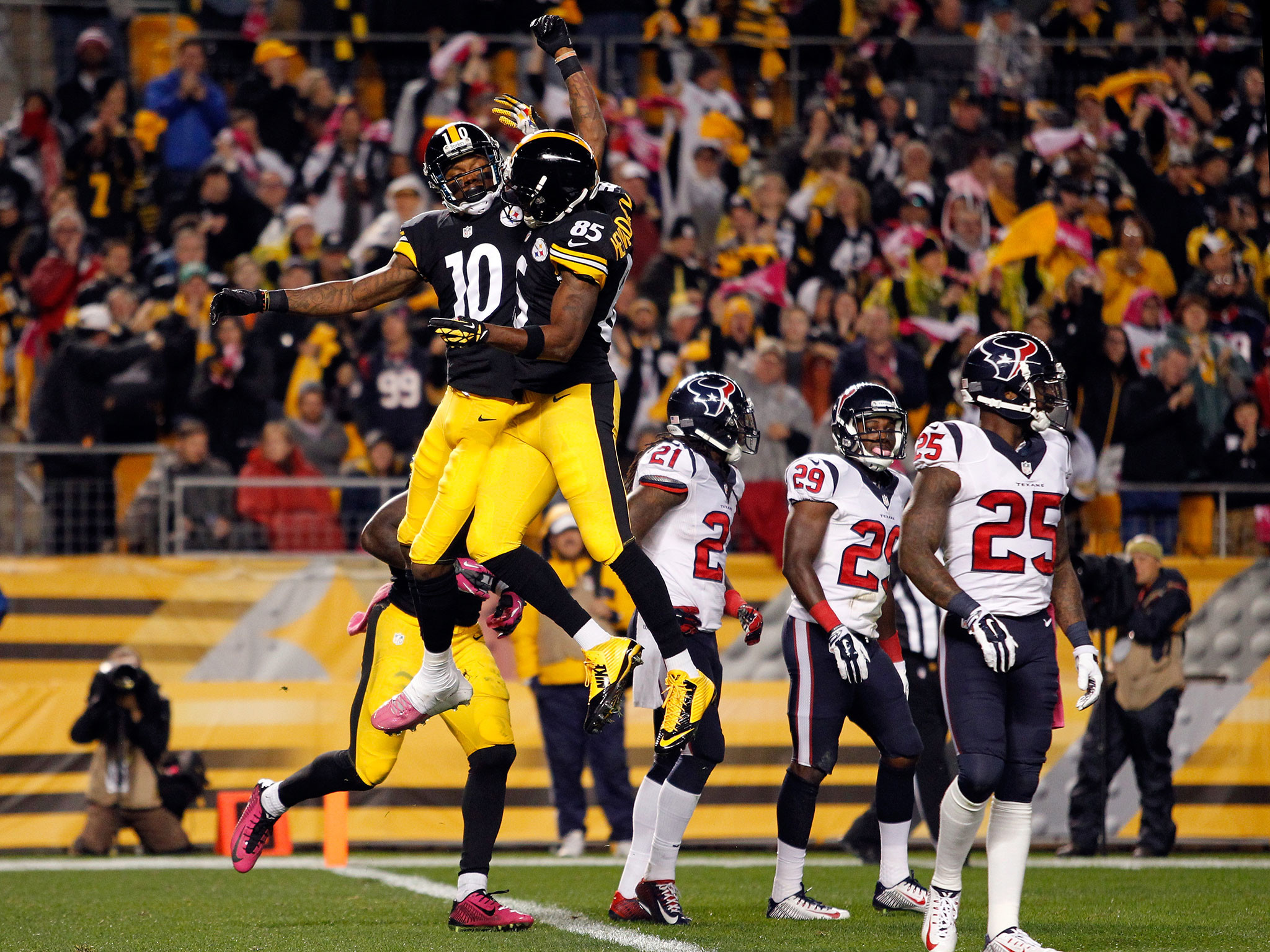 Pittsburgh Steelers vs Houston Texans: 24 points in three minutes help  Steelers to 30-23 victory | The Independent