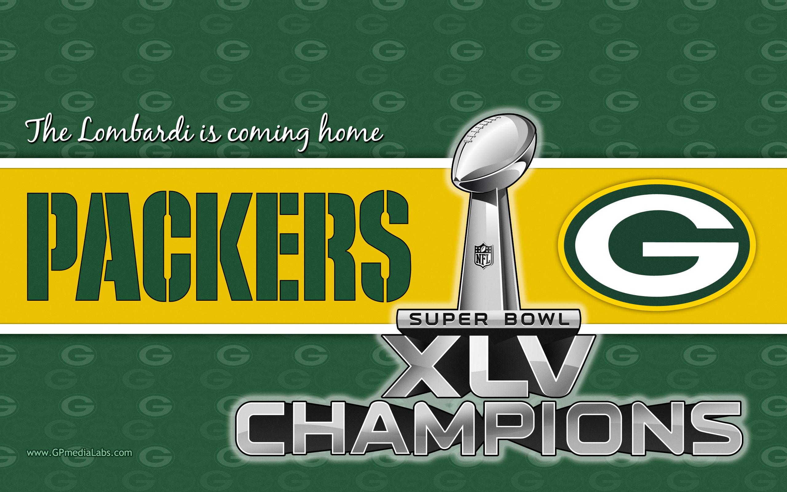 Green Bay Packers NFL 2011 Champions Widescreen Wallpaper