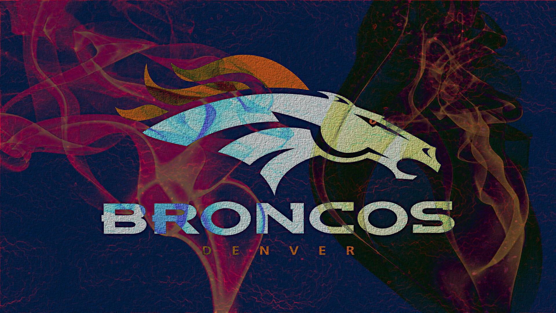 Denver Broncos Logo Wallpaper HD Download Free.