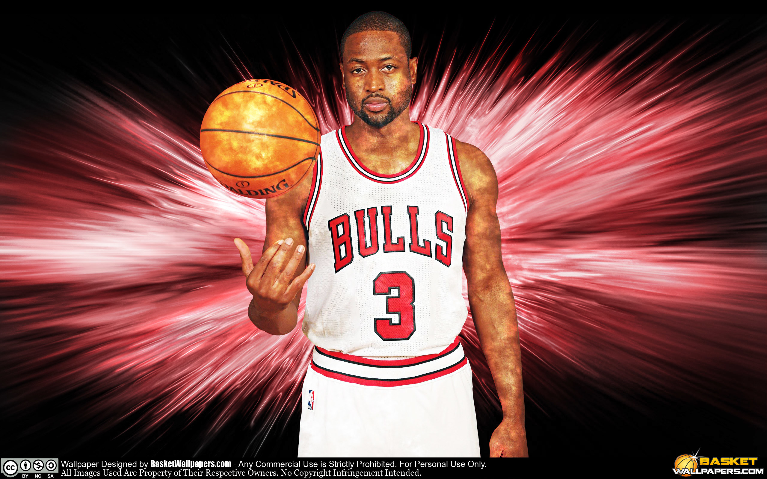 Dwyane Wade Chicago Bulls 2016 Wallpaper