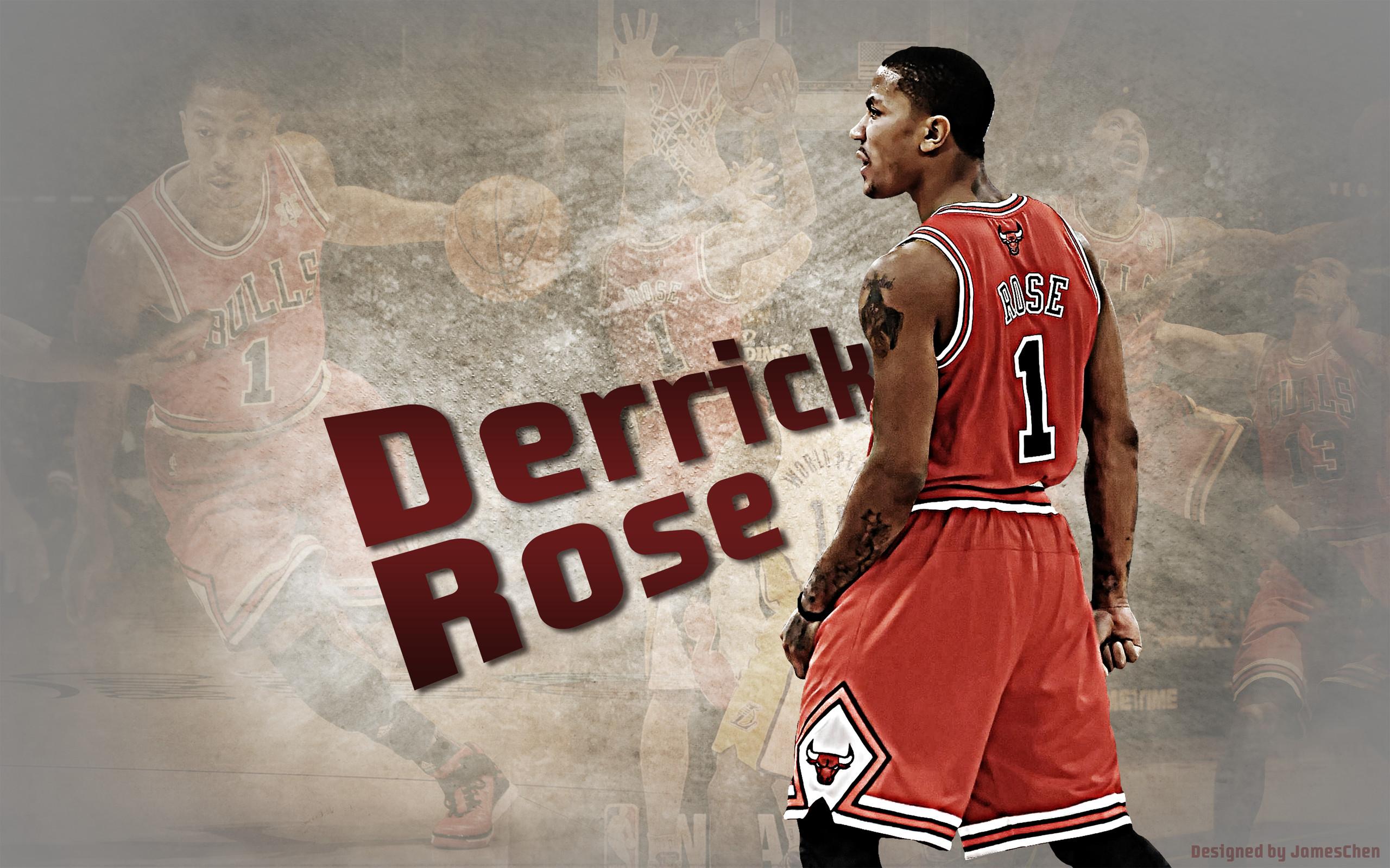 Derrick Rose Chicago Bulls – Download Wallpaper