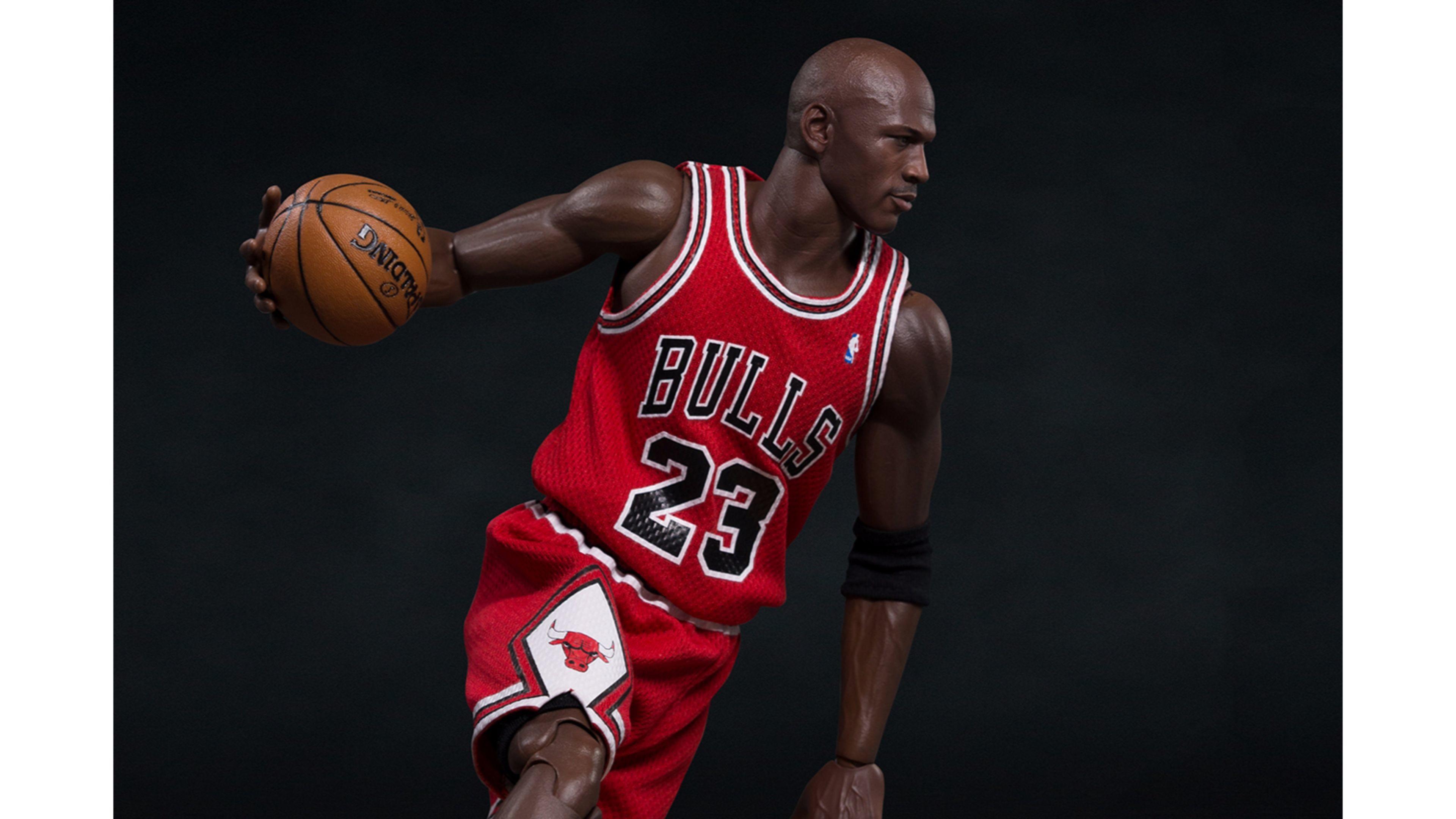 Chicago Bulls #23 Michael Jordan 4K Wallpaper