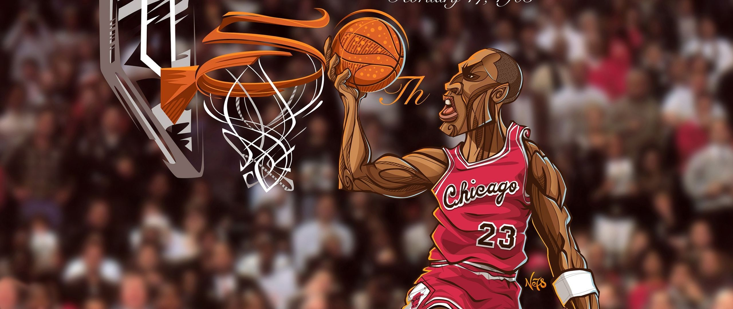 Download Wallpaper Michael jordan, Chicago bulls, Sports .