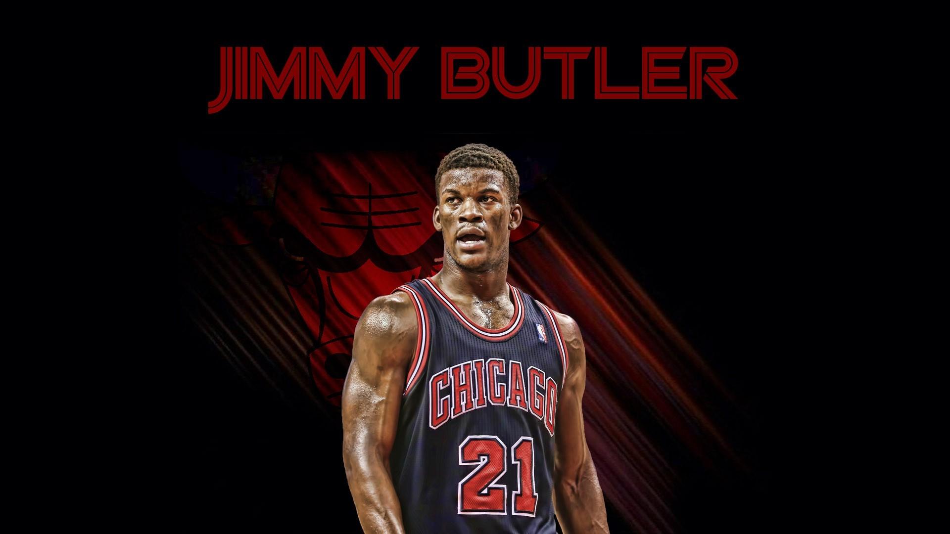 Jimmy Butler 21 Chicago Bulls 2015 Wallpaper