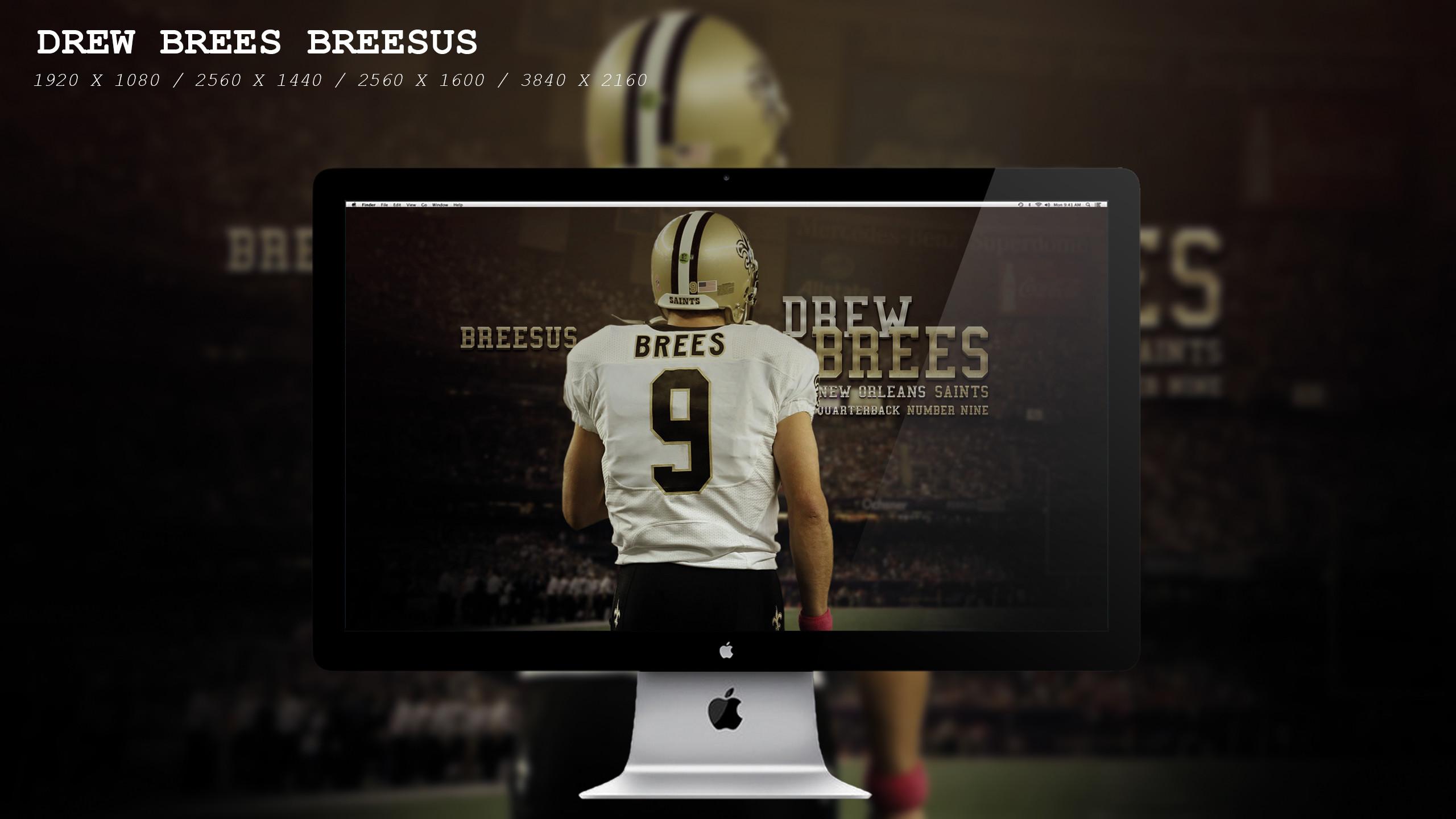 … Drew Brees Breesus Wallpaper HD by BeAware8
