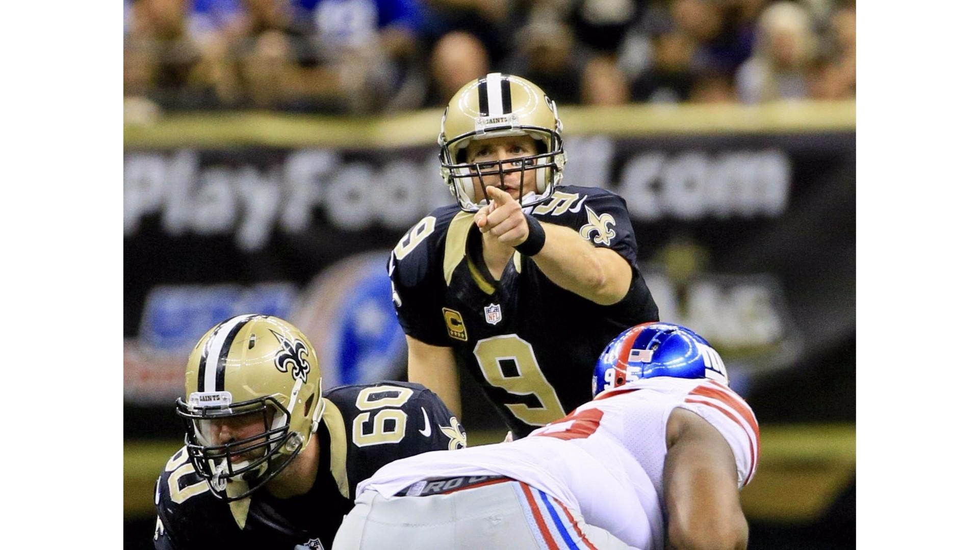 NY Giants vs 2016 Saints Drew Brees 4K Wallpapers | Free .