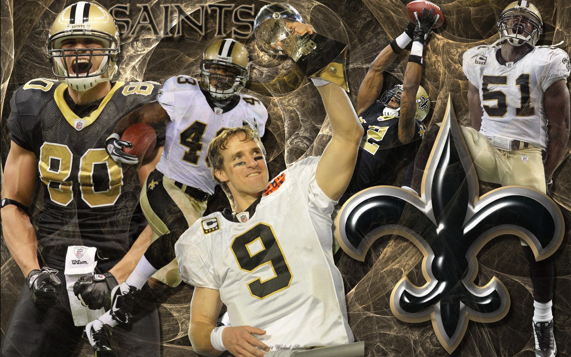 New Orleans Saints Team Wallpaper