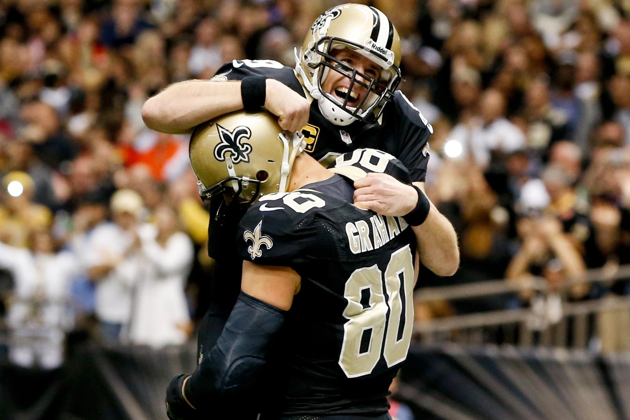 Drew Brees says awkwardness won't linger between Saints, Jimmy Graham