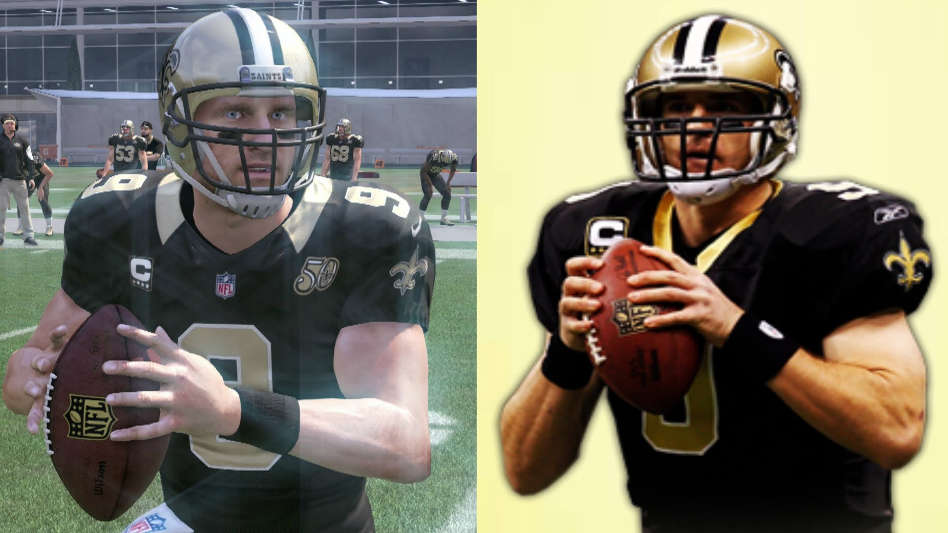 Can I Recreate Drew Brees' 500 Yard 7 TD Performance in Madden 17?! The Drew  Brees Challenge