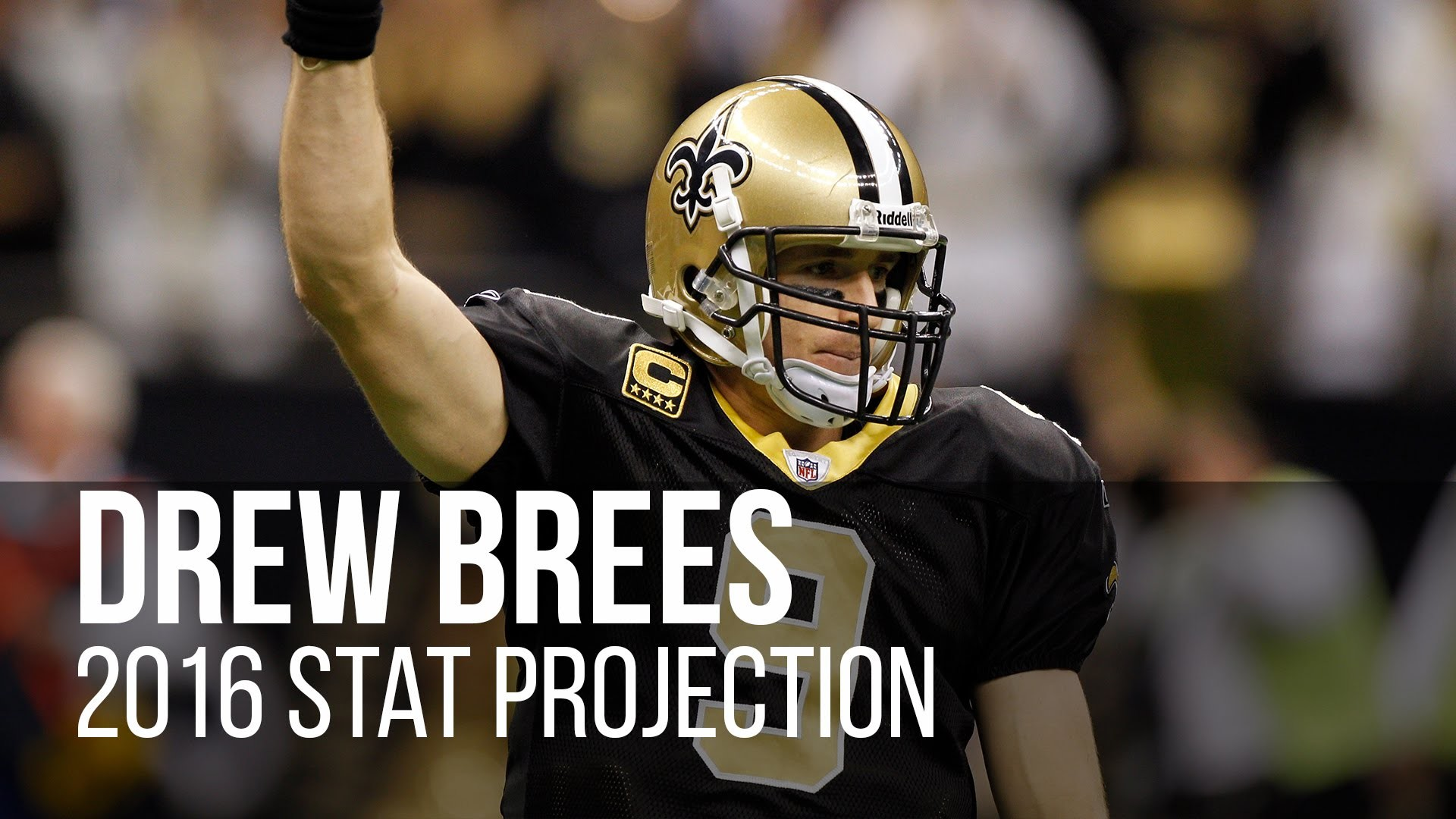 Drew Brees 2016 Stat Projection