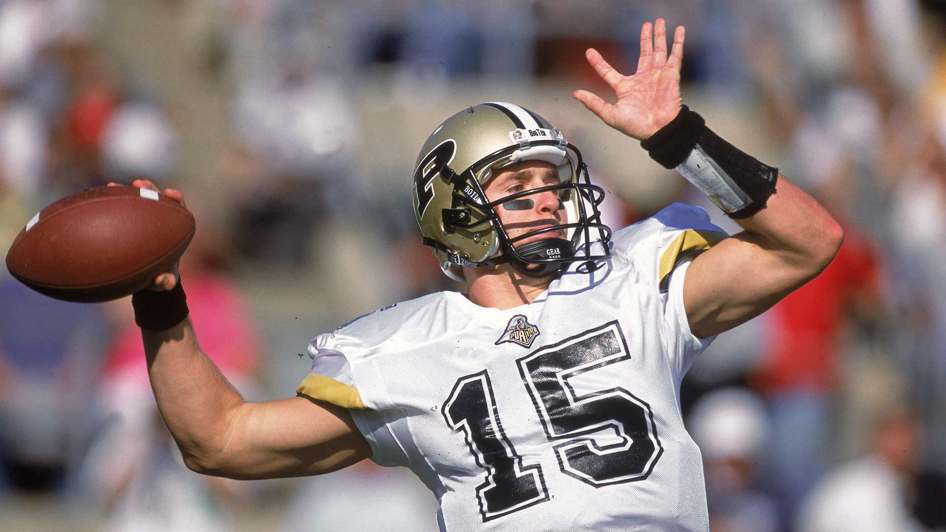 Drew Brees commits $1 million to Purdue football | NCAA Football | Sporting  News