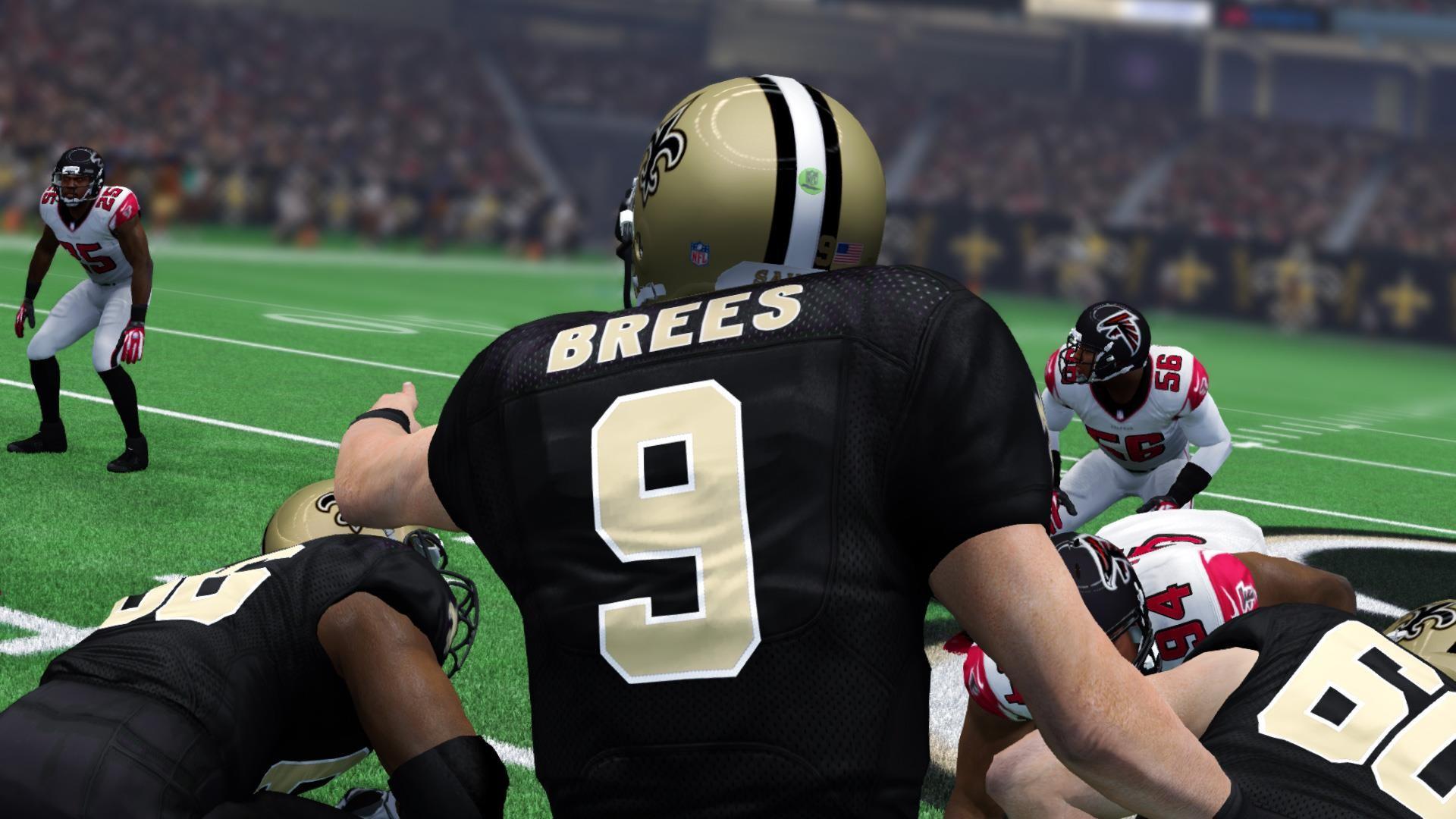 Drew Brees Legacy Award in Madden NFL 25
