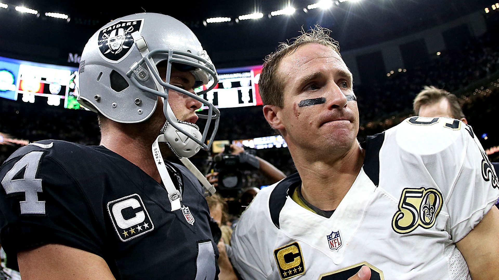 The Blitz Read: Derek Carr outduels Drew Brees in wild Week 1 | NFL |  Sporting News