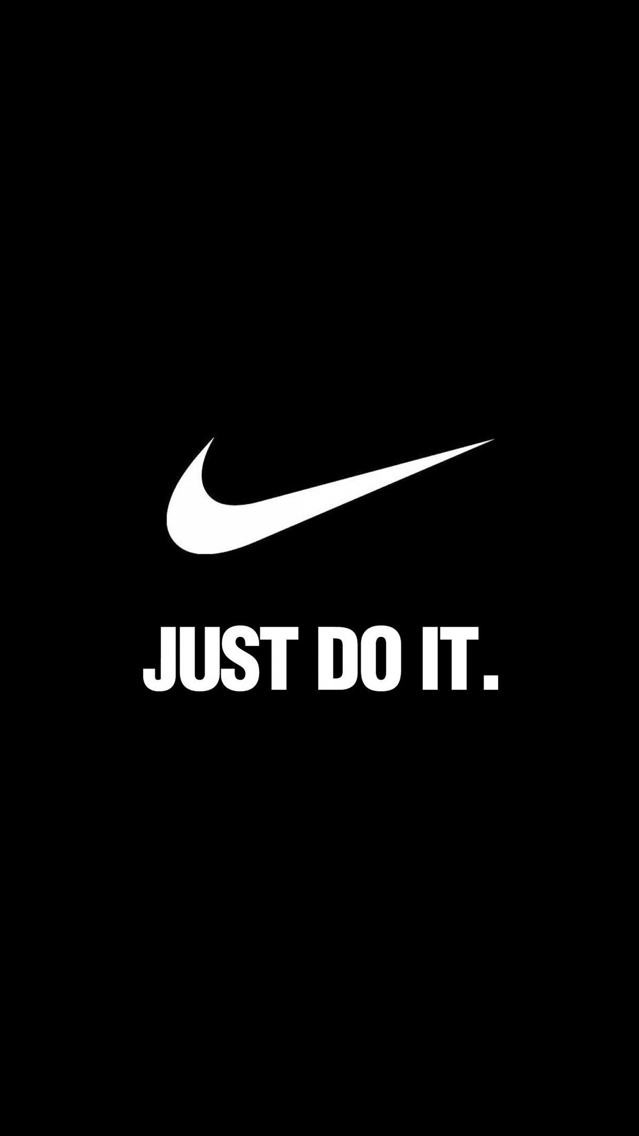 Logo Nike Brand Just Do It Motivation · Nike Wallpaper IphoneIphone …