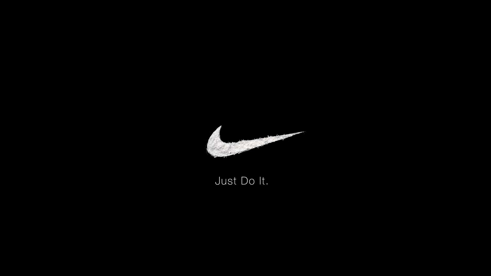 black Nike Wallpaper HD and background for ipad
