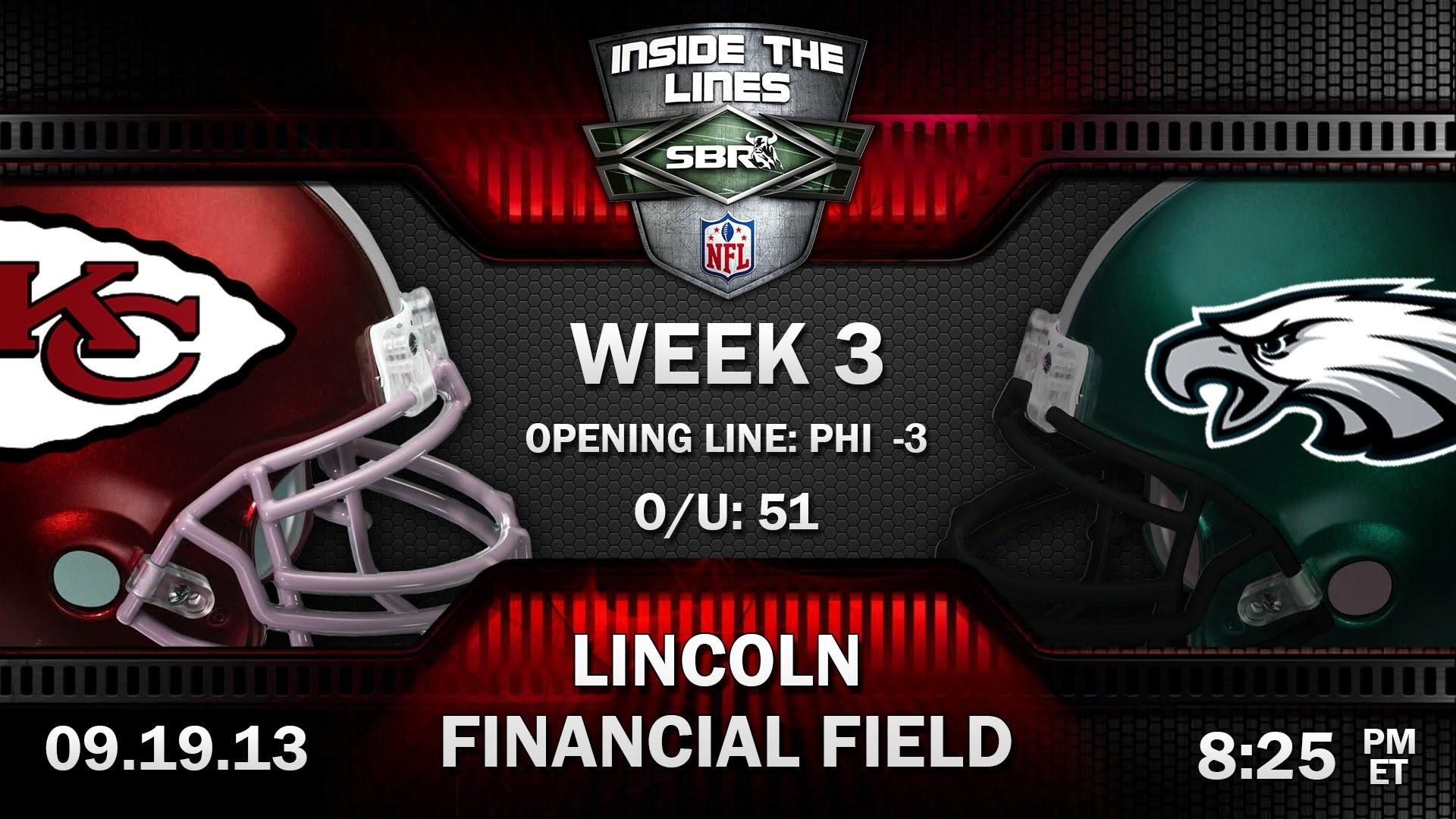 Kansas City Chiefs vs Philadelphia Eagles Week 3 Thursday Night Football  Preview   2013 NFL Picks