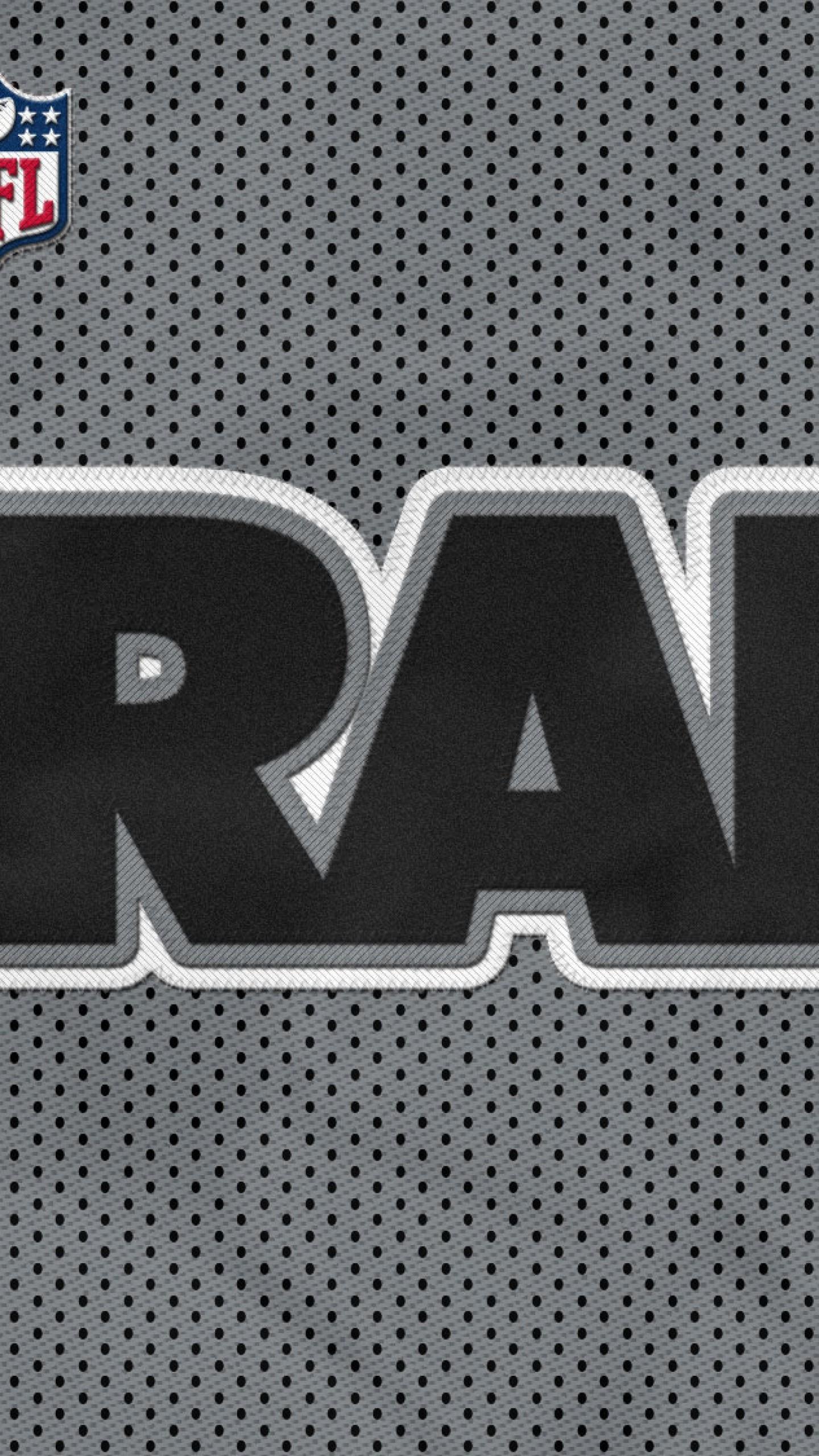 Preview wallpaper oakland raiders, football club, nfl, los angeles raiders  1440×2560