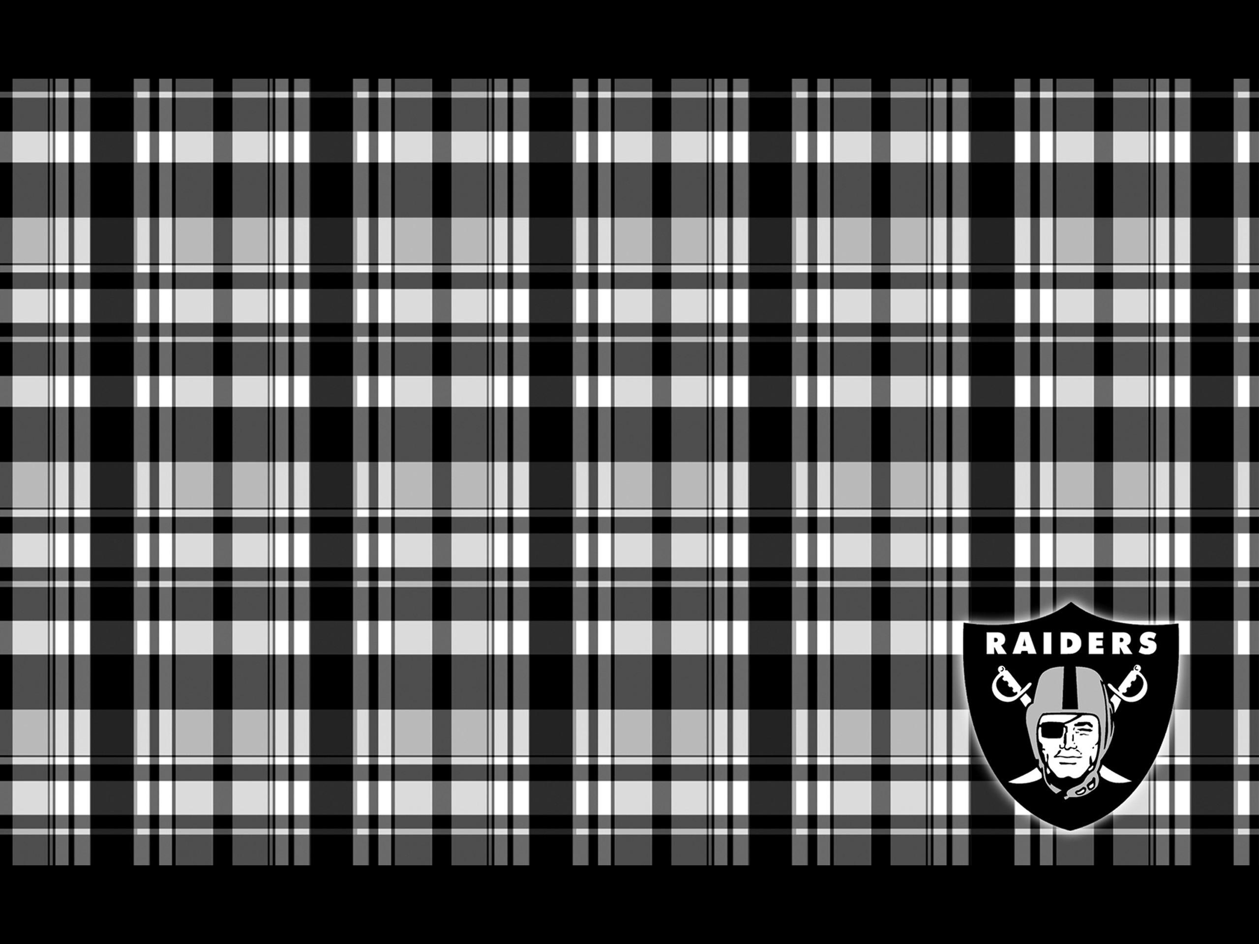 oakland raiders tartan 2560×1920
