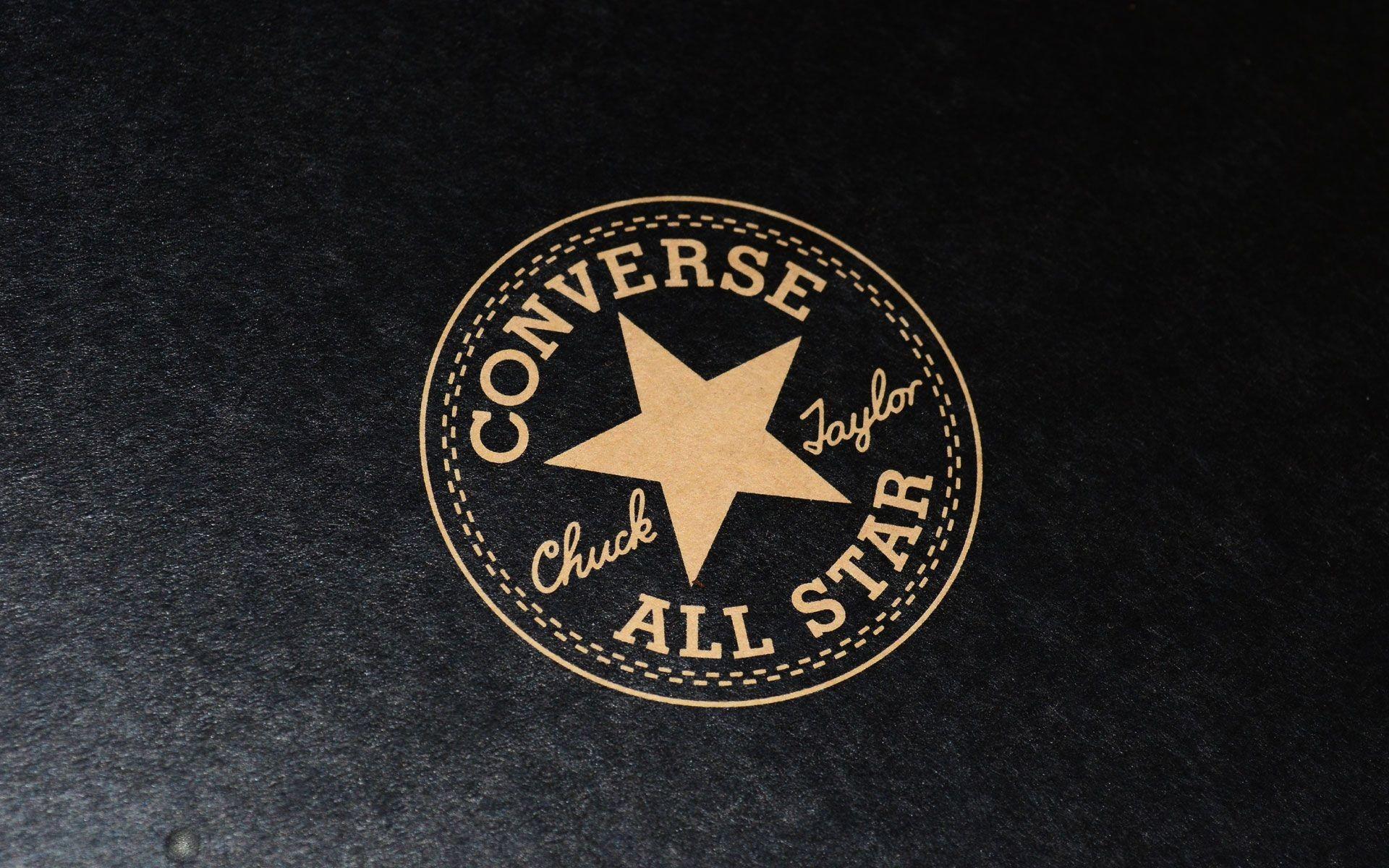 Black Converse All Star Logo On Box Picture Gallery Image Wallpaper HD  Widescreen Desktop