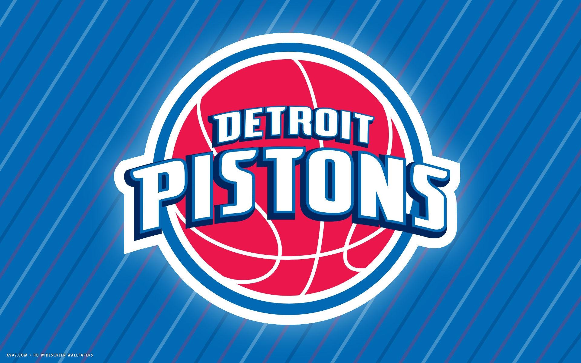 detroit pistons nba basketball team hd widescreen wallpaper