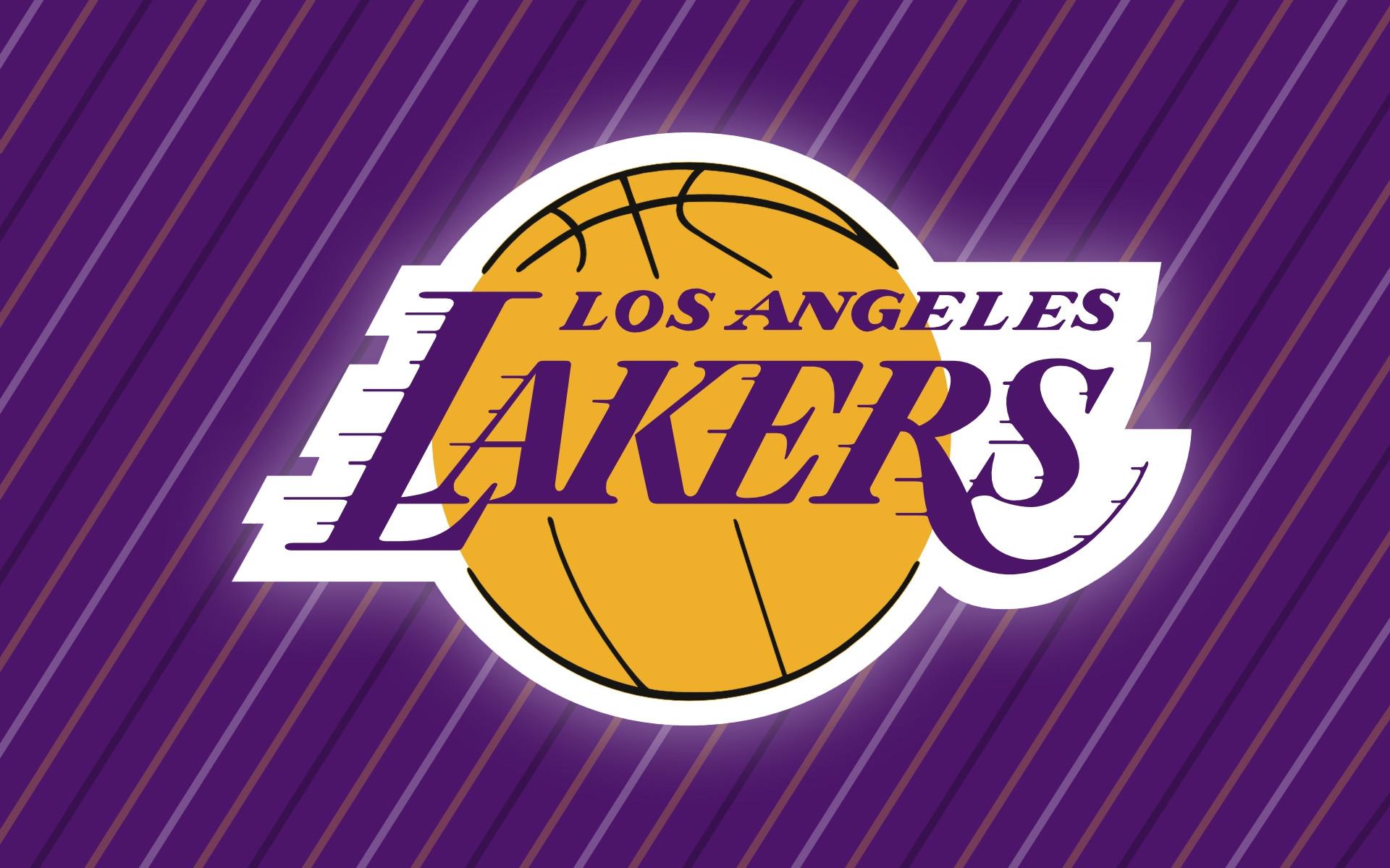 NBA Team Logo as Wallpaper – LA Lakers, the Team Always in Top List!
