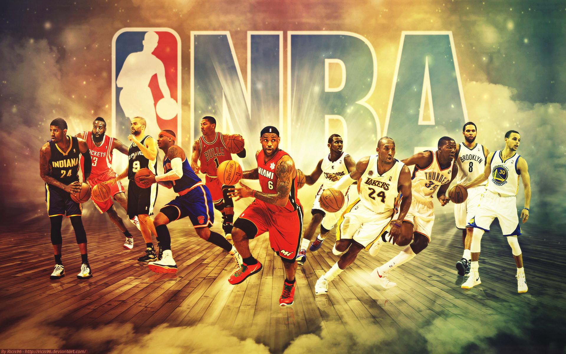 NBA Grid Wallpaper – NBA Wallpaper