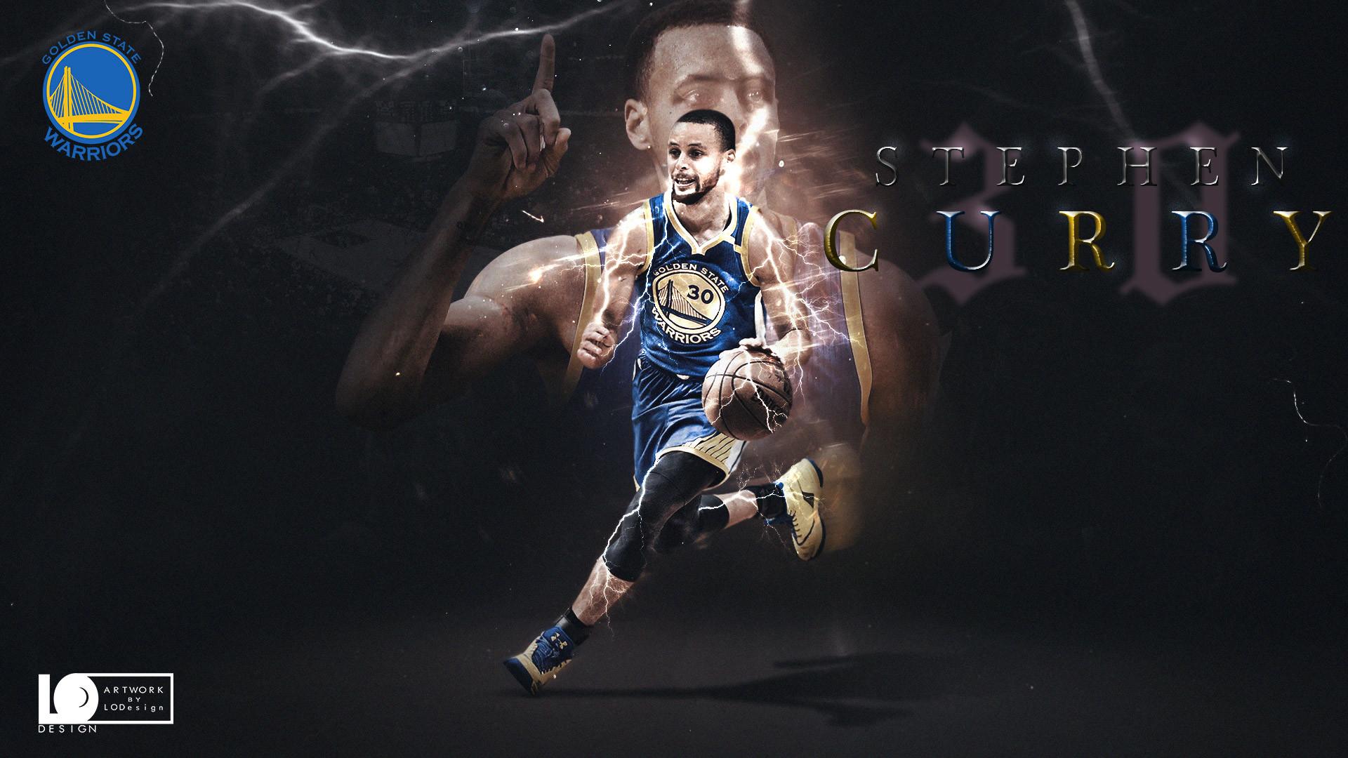 Stephen Curry 2017 Playoffs Wallpaper