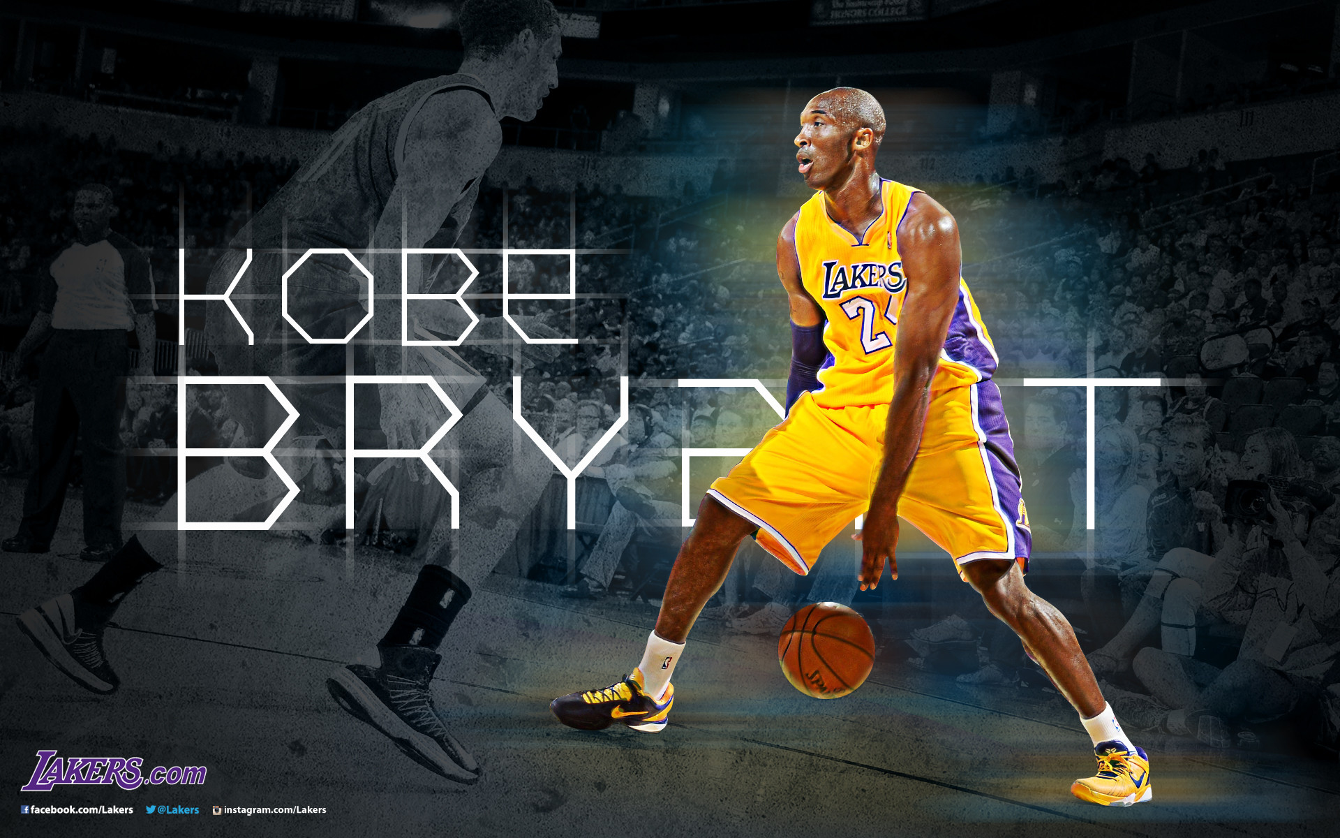 Lakers Desktop Wallpapers   THE OFFICIAL SITE OF THE LOS ANGELES .