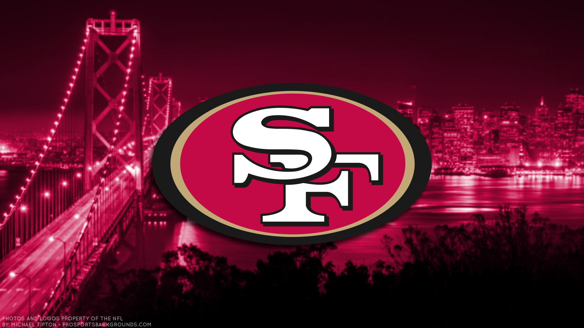… San Francisco 49ers 2017 football logo wallpaper pc desktop computer