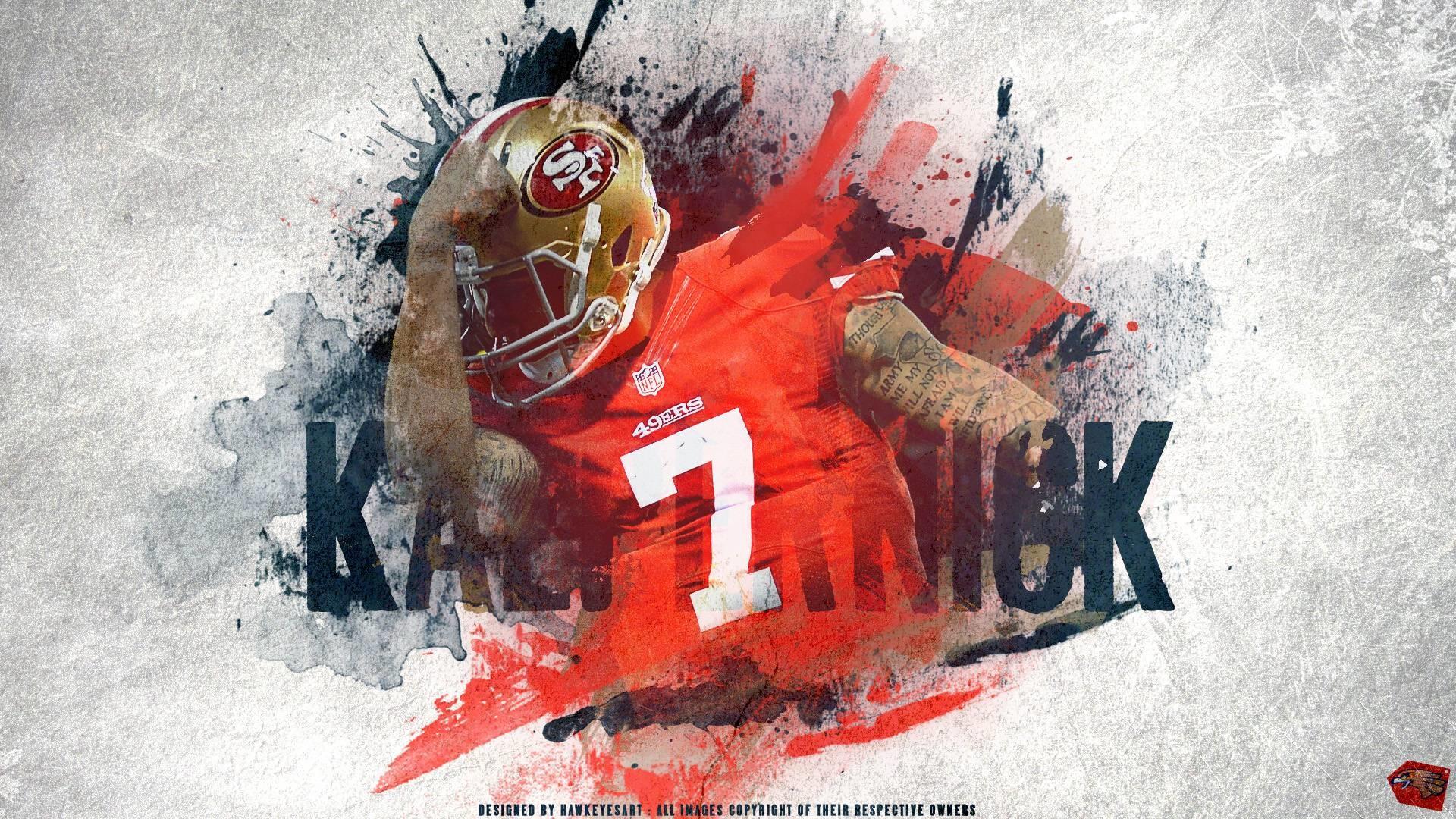 Colin Kaepernick San Francisco 49ers wallpaper