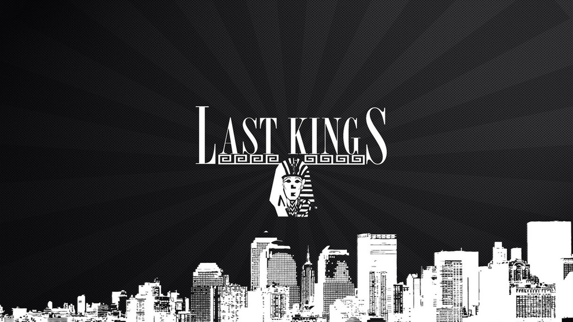 Last Kings Wallpaper with Logo on City