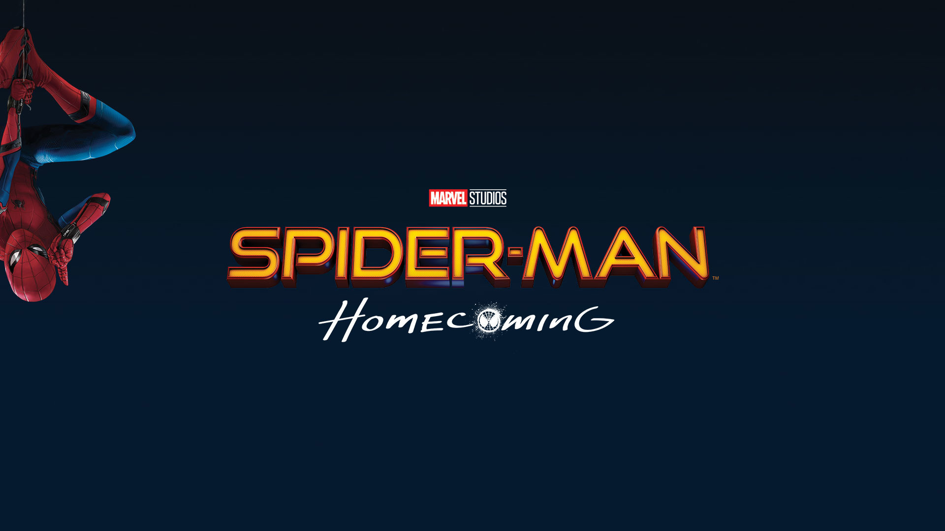 Spider-Man Homecoming Logo Wallpaper