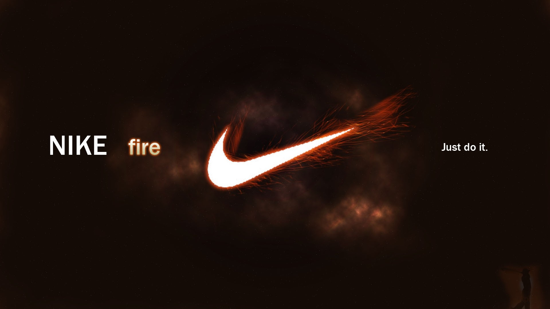 Wallpaper Nike fire, Logo, Sports brand Full HD 1080p HD .