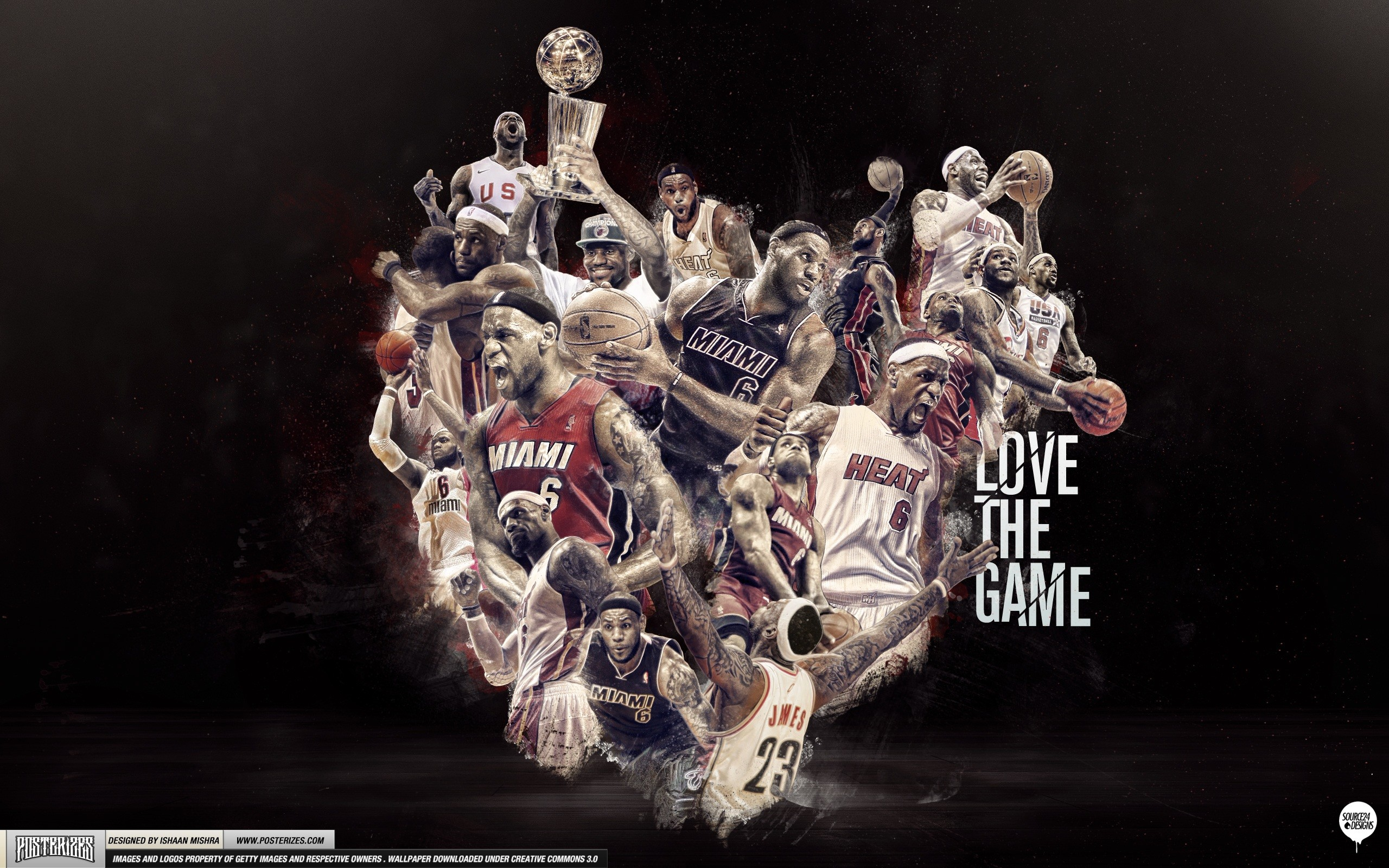 James 'Love the Game' Wallpaper | Posterizes | NBA Wallpapers .